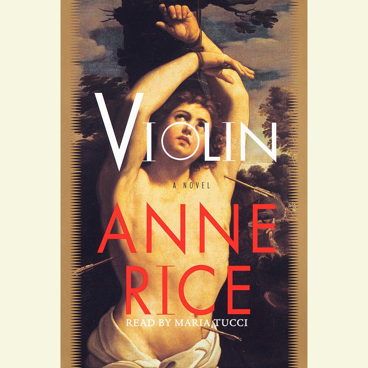 Printable Violin Audiobook Cover Art