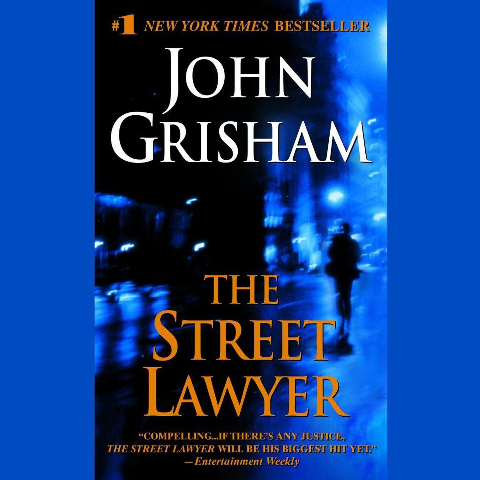 Printable The Street Lawyer Audiobook Cover Art