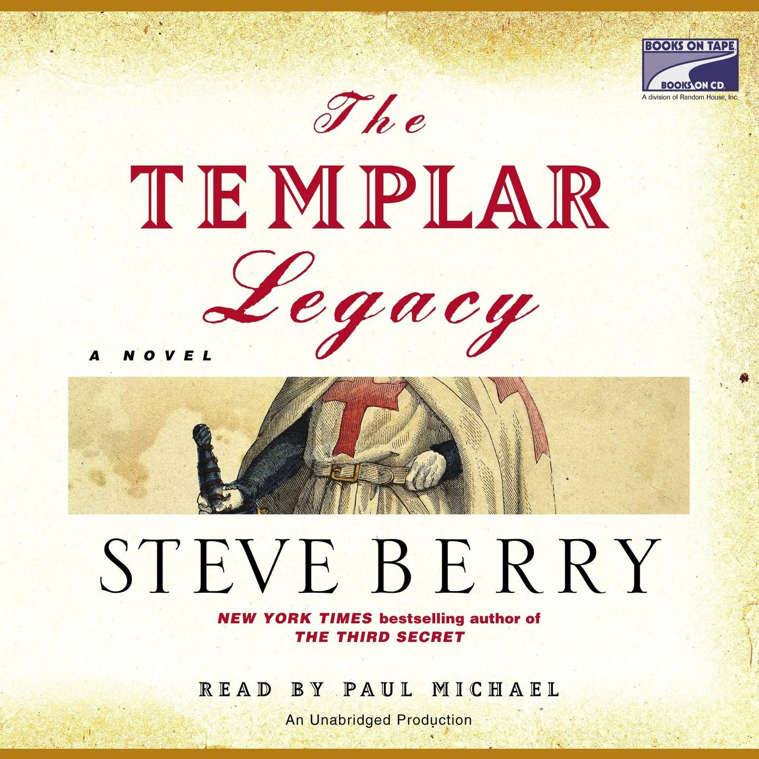 Printable The Templar Legacy: A Novel Audiobook Cover Art