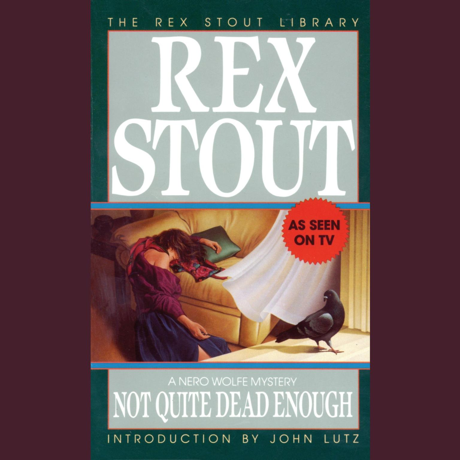 Printable Not Quite Dead Enough Audiobook Cover Art