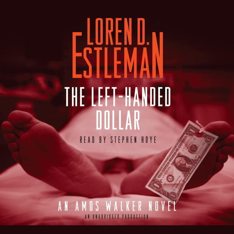 Printable The Left-Handed Dollar: An Amos Walker Novel Audiobook Cover Art