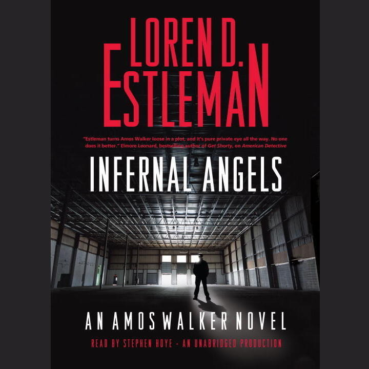 Printable Infernal Angels Audiobook Cover Art