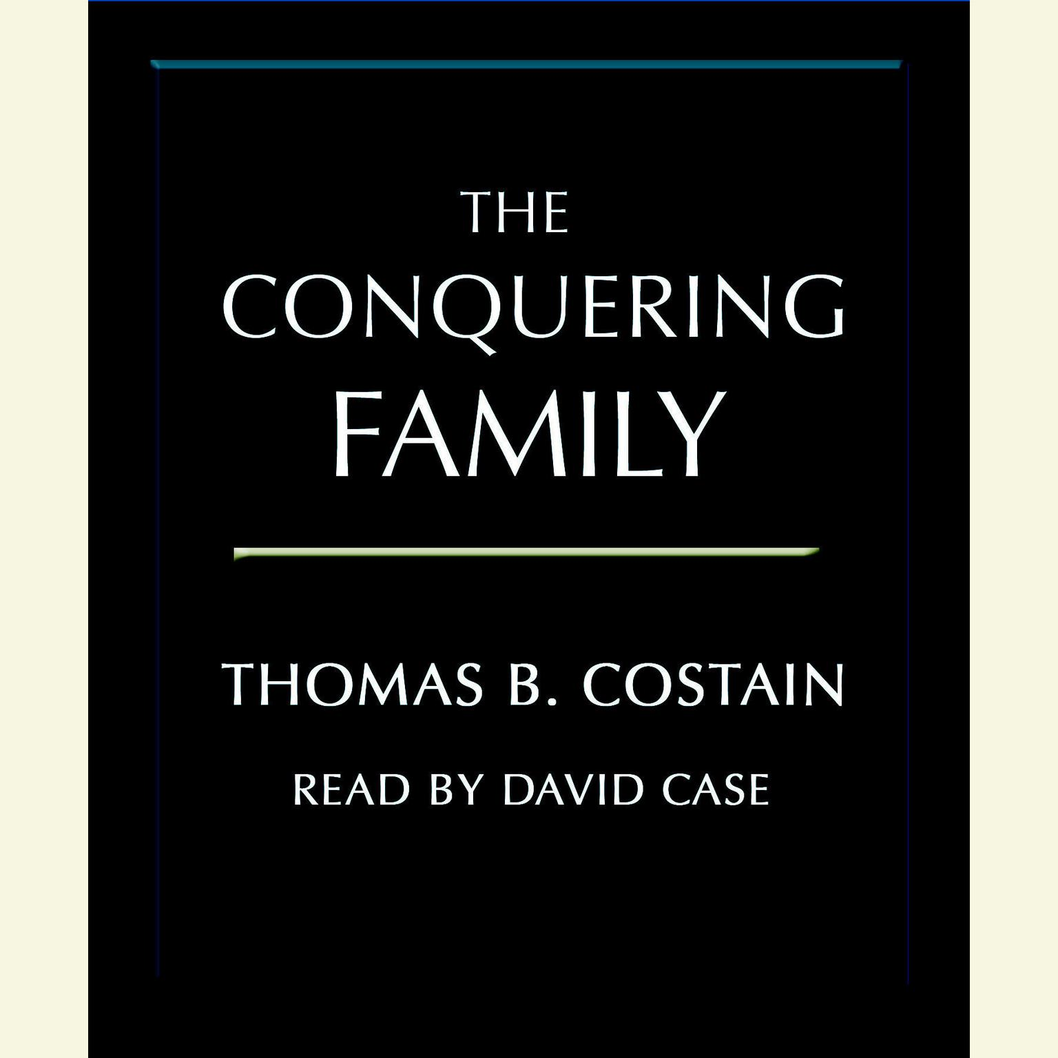 Printable The Conquering Family Audiobook Cover Art
