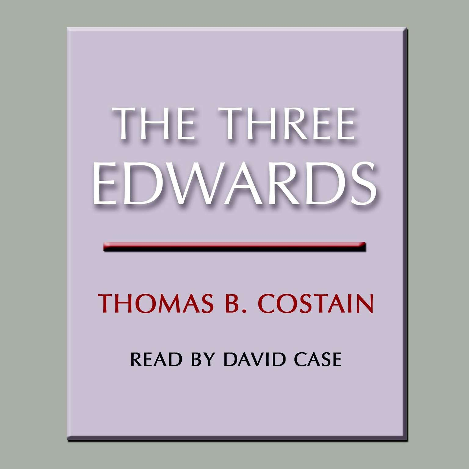 Printable The Three Edwards Audiobook Cover Art