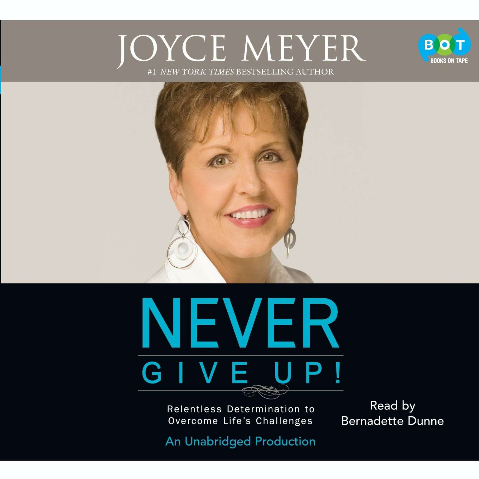 Printable Never Give Up!: Relentless Determination to Overcome Life's Challenges Audiobook Cover Art