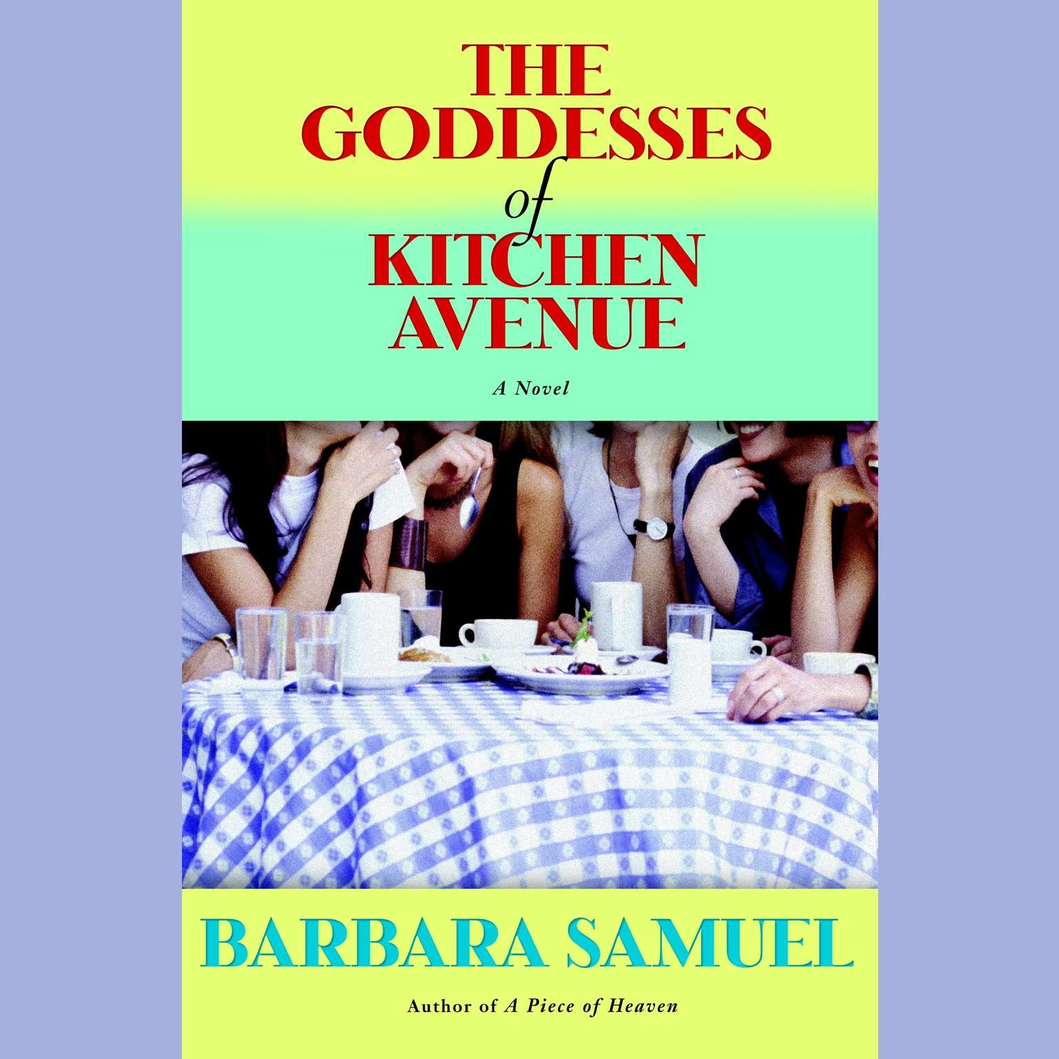 Printable The Goddesses of Kitchen Avenue Audiobook Cover Art