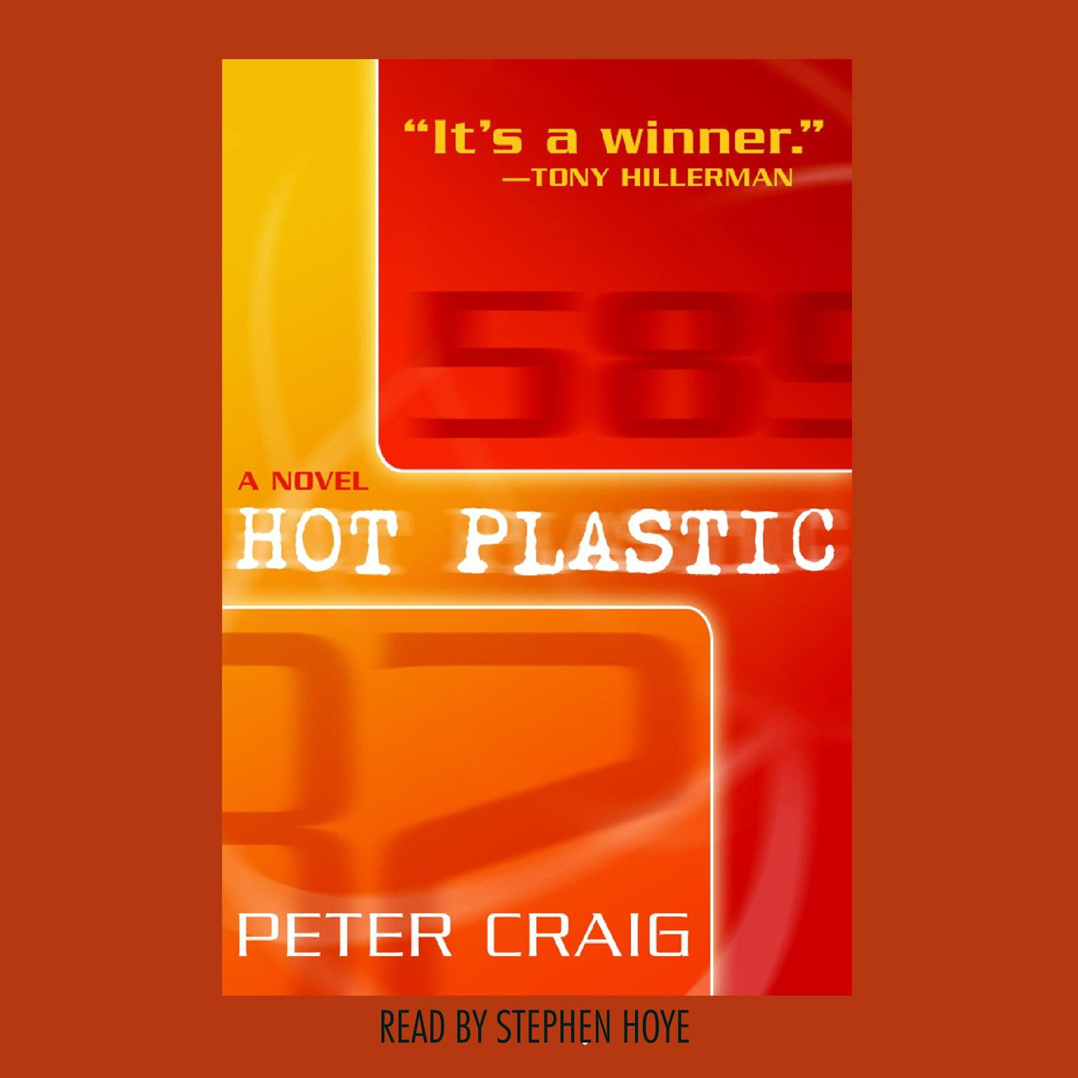 Printable Hot Plastic: A Novel Audiobook Cover Art
