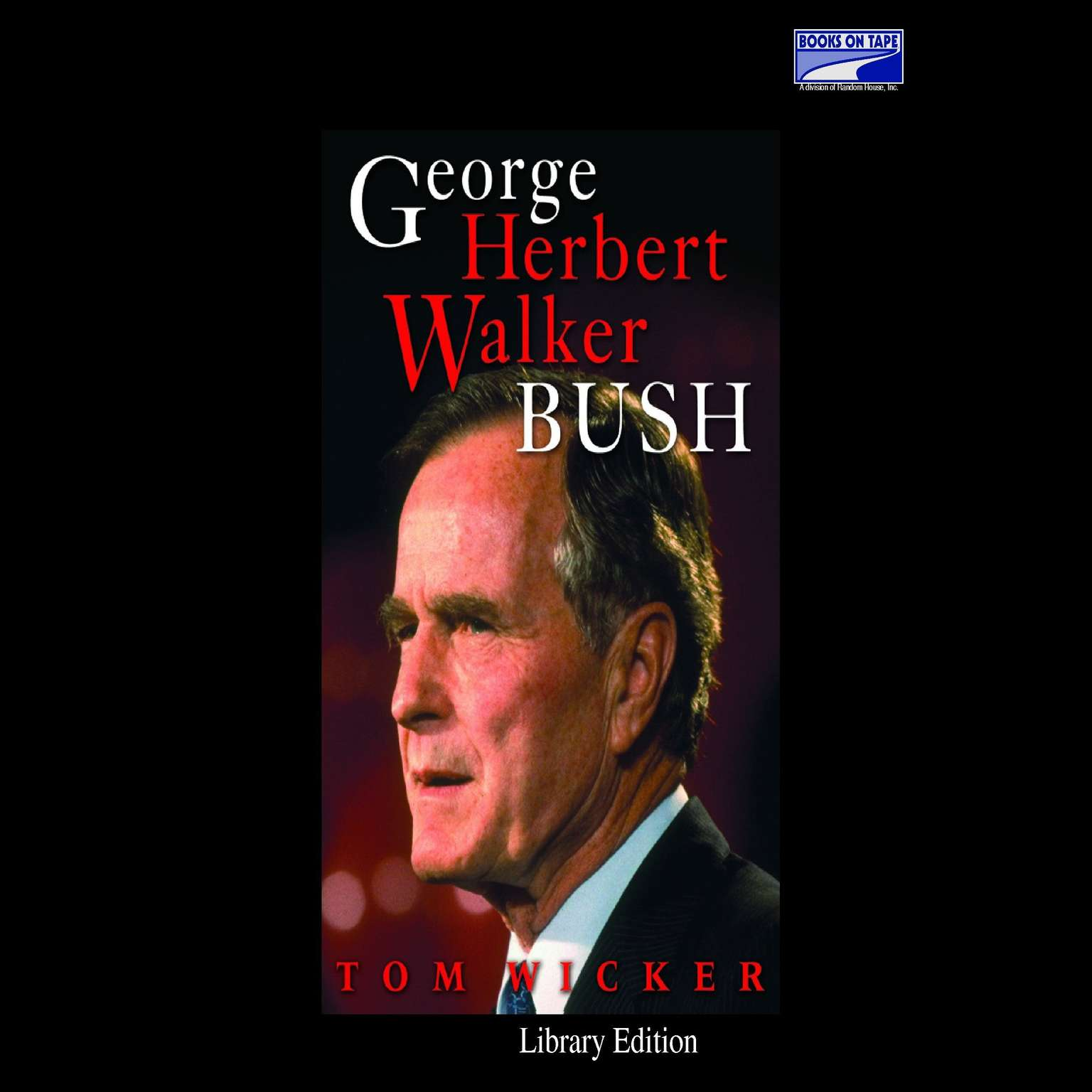 Printable George Herbert Walker Bush Audiobook Cover Art