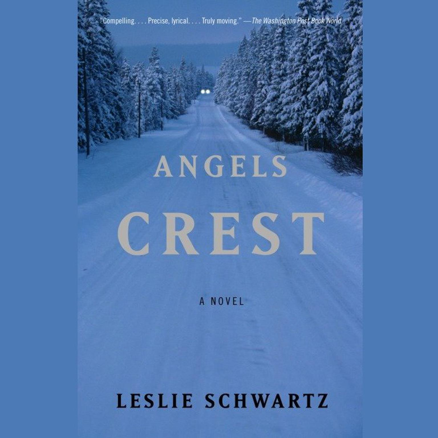 Printable Angels Crest Audiobook Cover Art