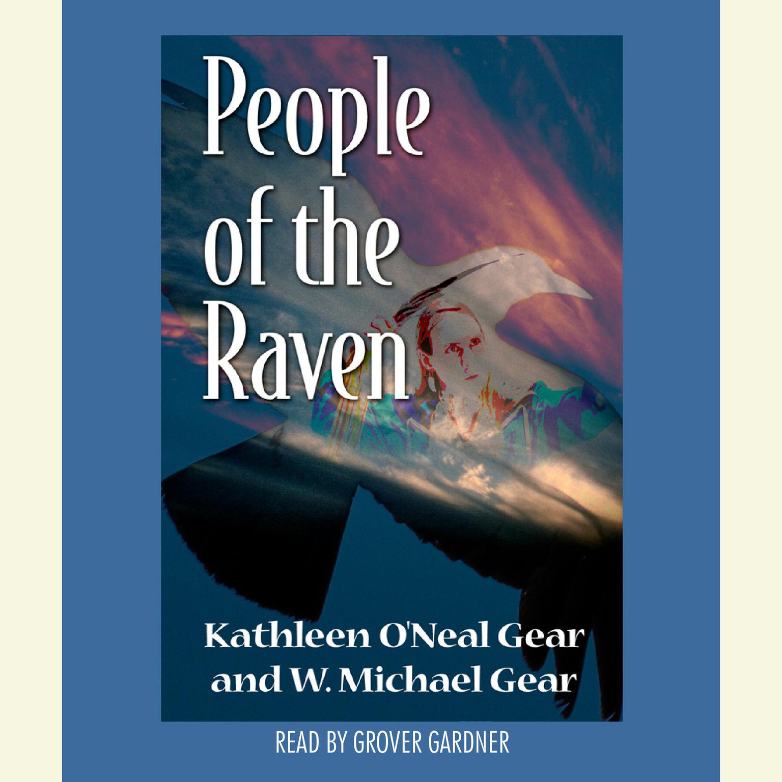Printable People of the Raven Audiobook Cover Art