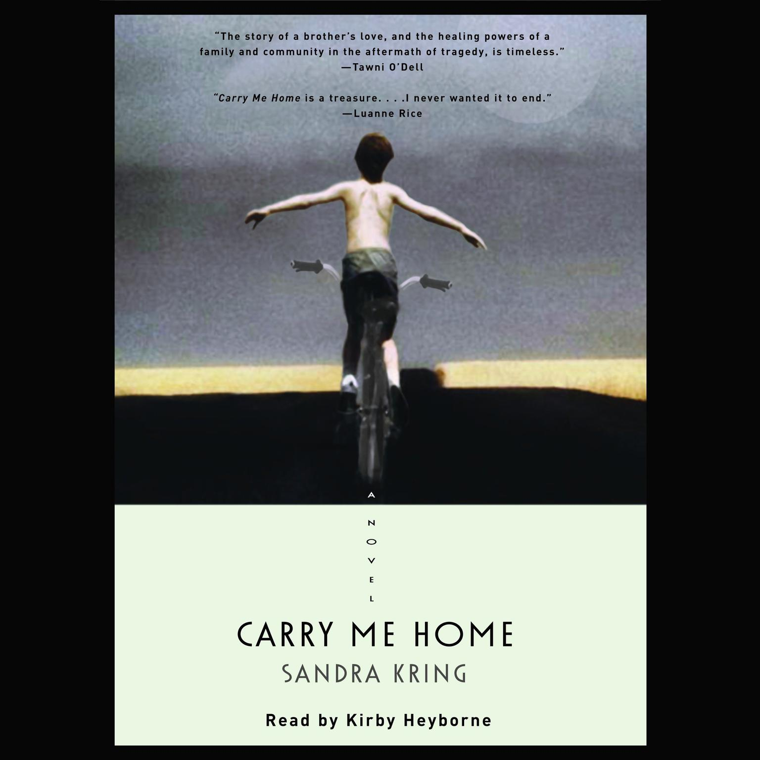 Printable Carry Me Home: A Novel Audiobook Cover Art