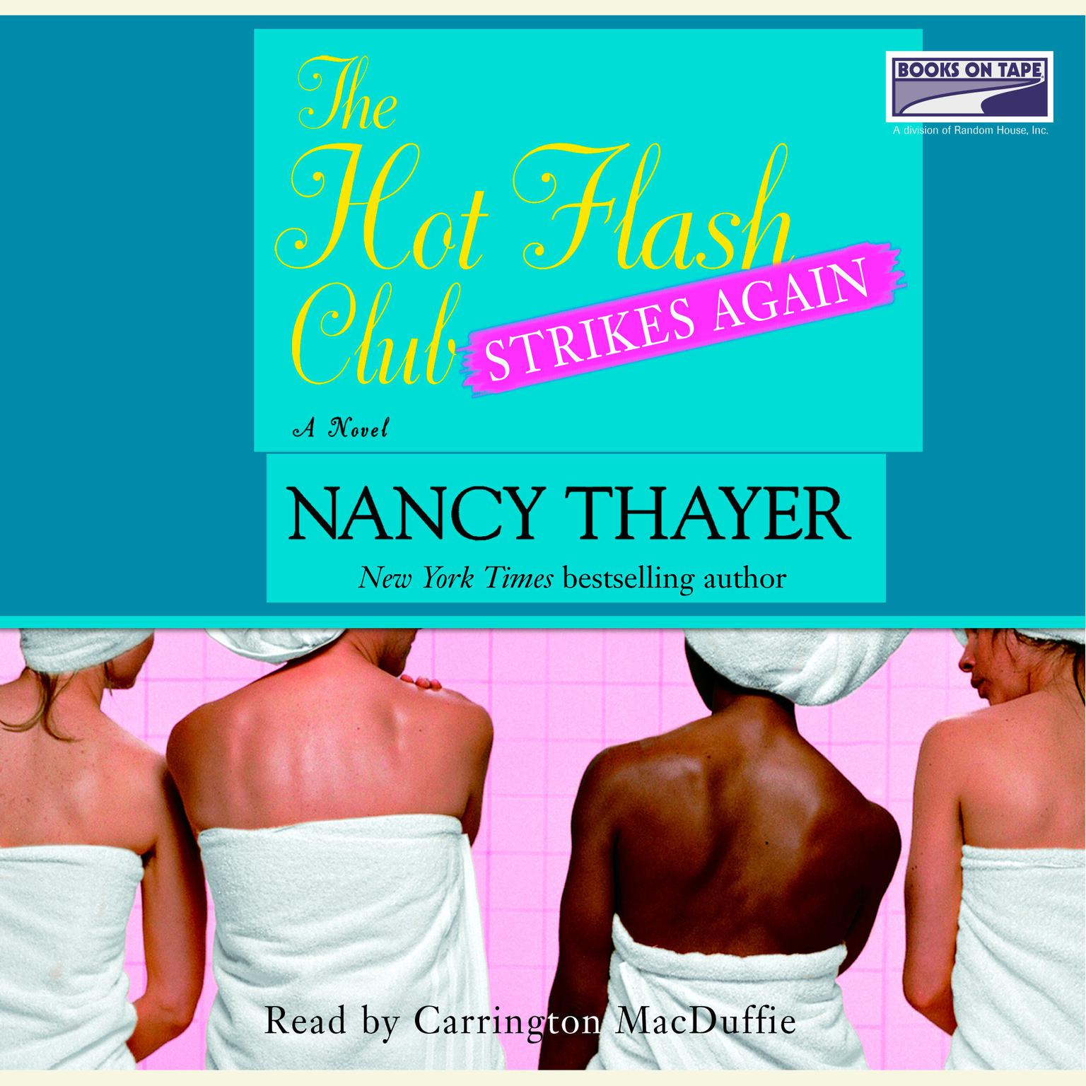 Printable The Hot Flash Club Strikes Again: A Novel Audiobook Cover Art