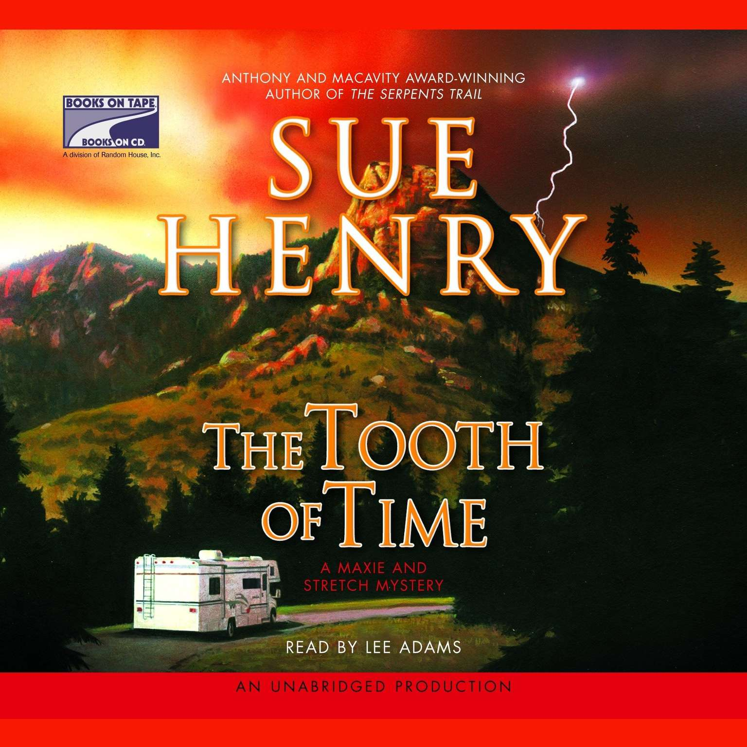 Printable The Tooth of Time: A Maxie and Stretch Mystery Audiobook Cover Art