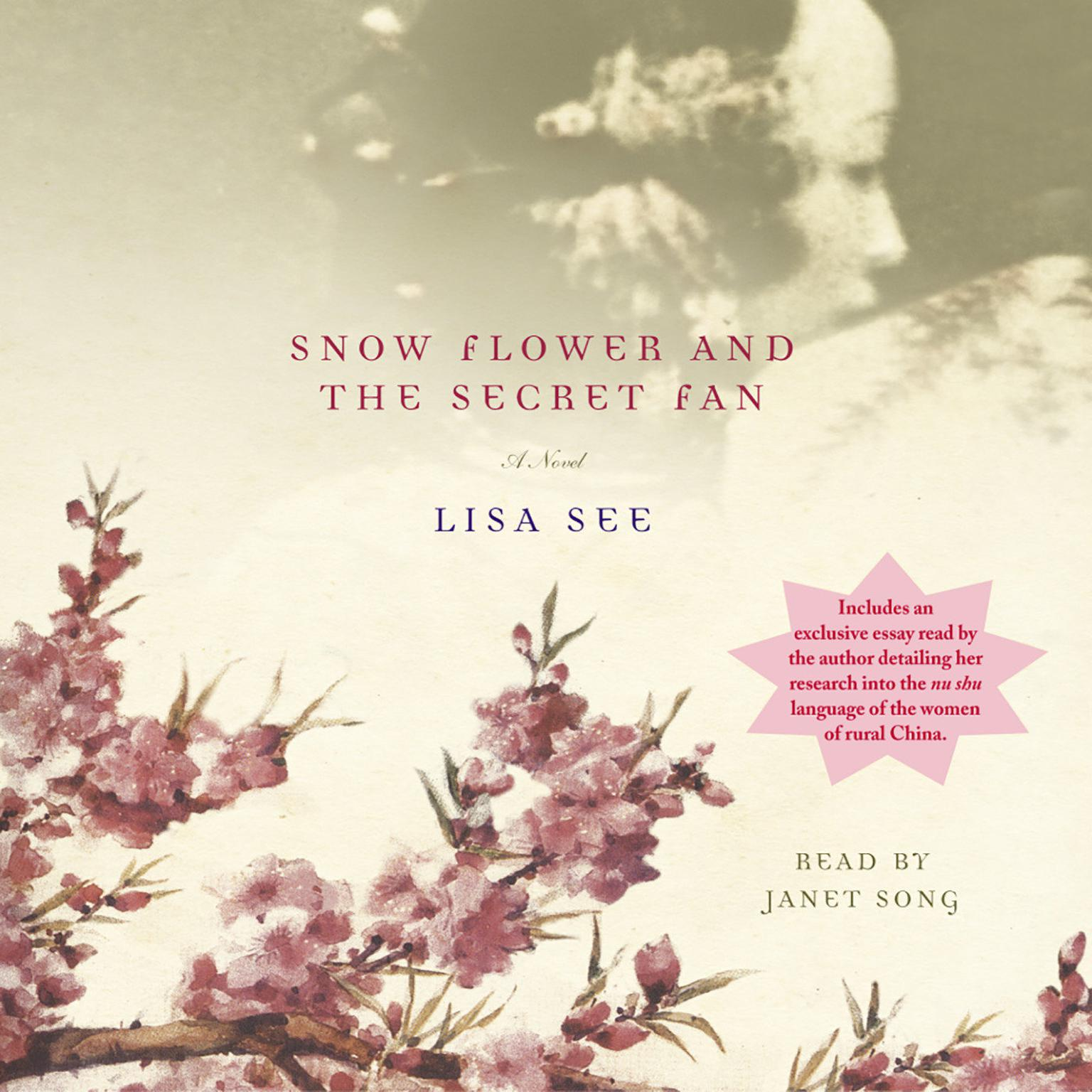 Printable Snow Flower and the Secret Fan: A Novel Audiobook Cover Art