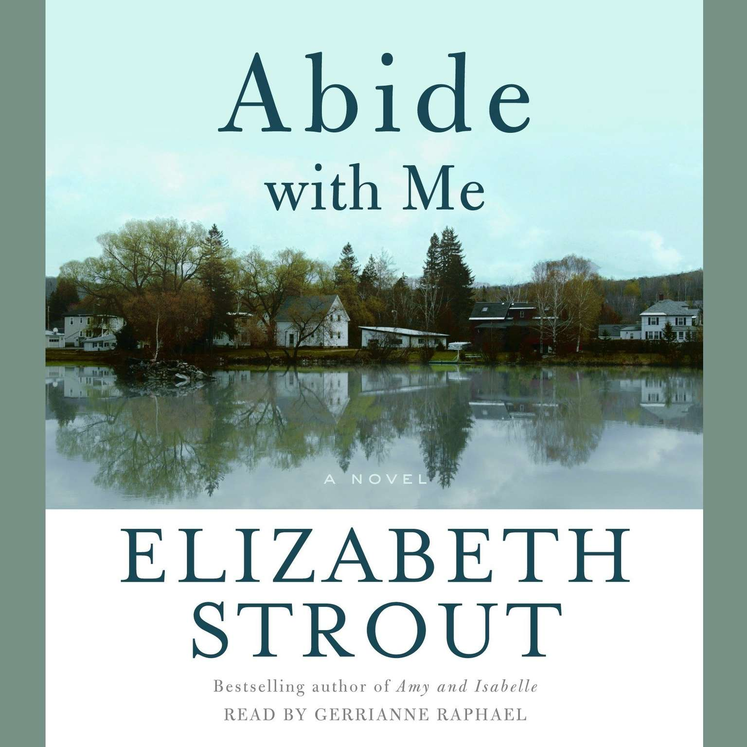 Printable Abide With Me: A Novel Audiobook Cover Art