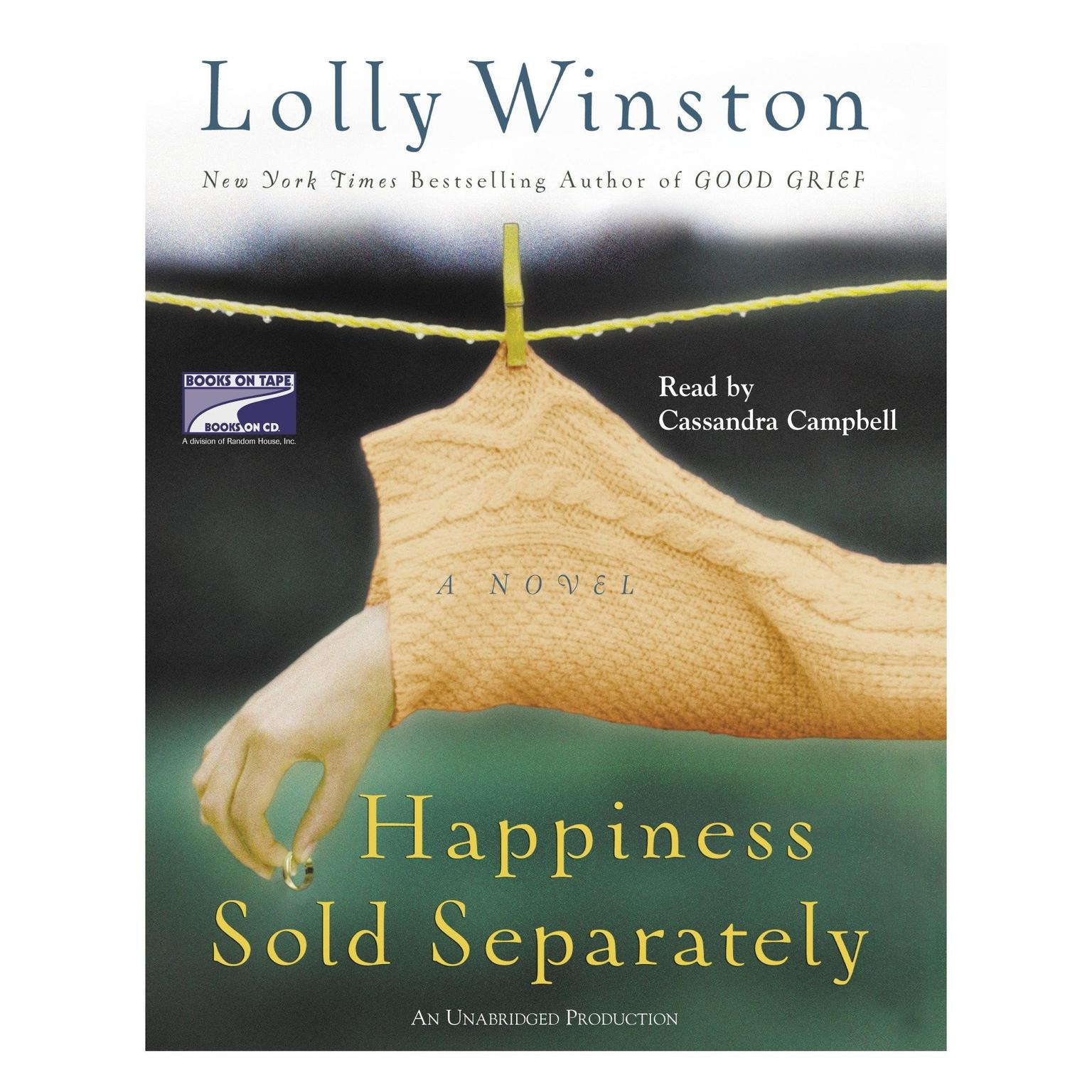 Printable Happiness Sold Separately Audiobook Cover Art