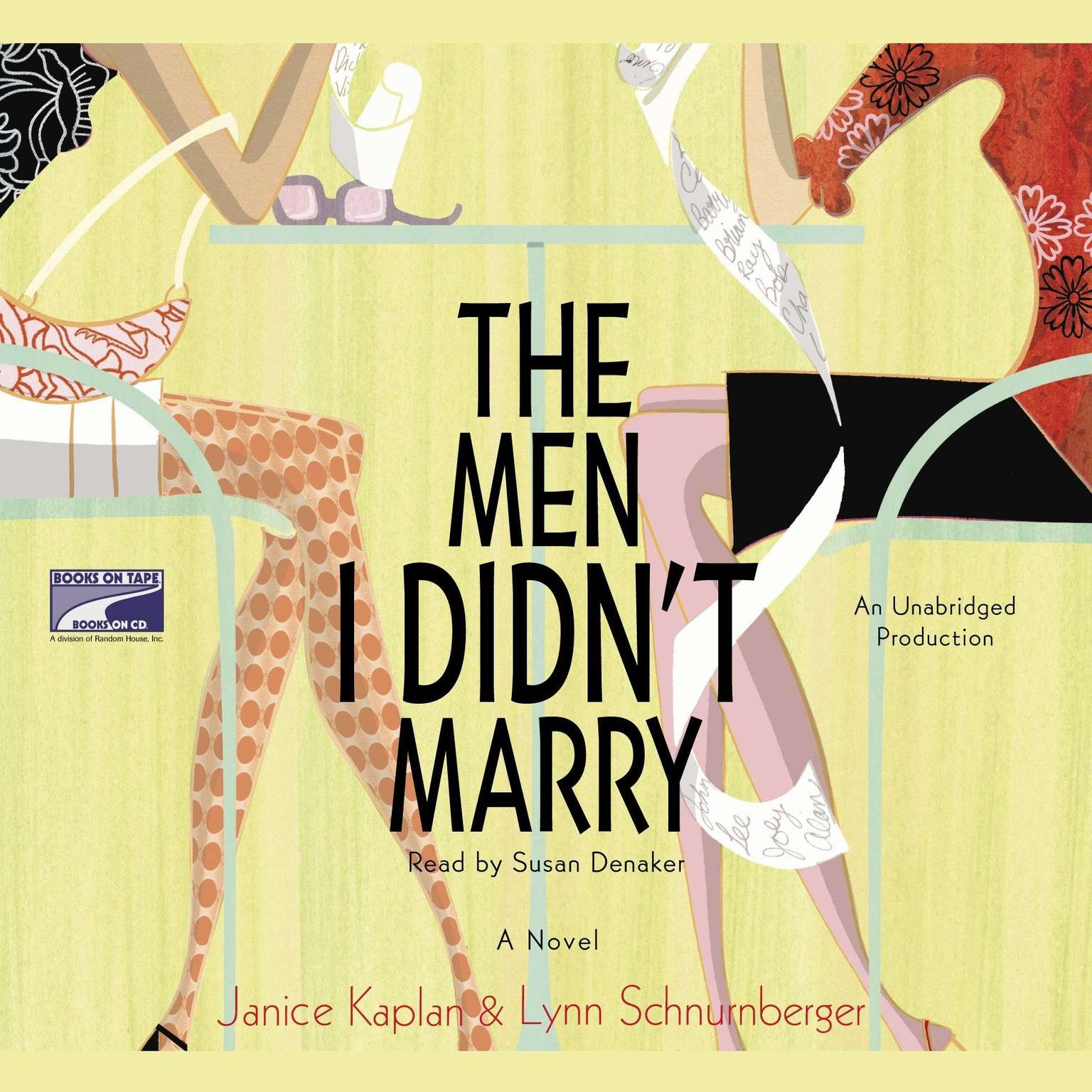 Printable The Men I Didn't Marry: A Novel Audiobook Cover Art