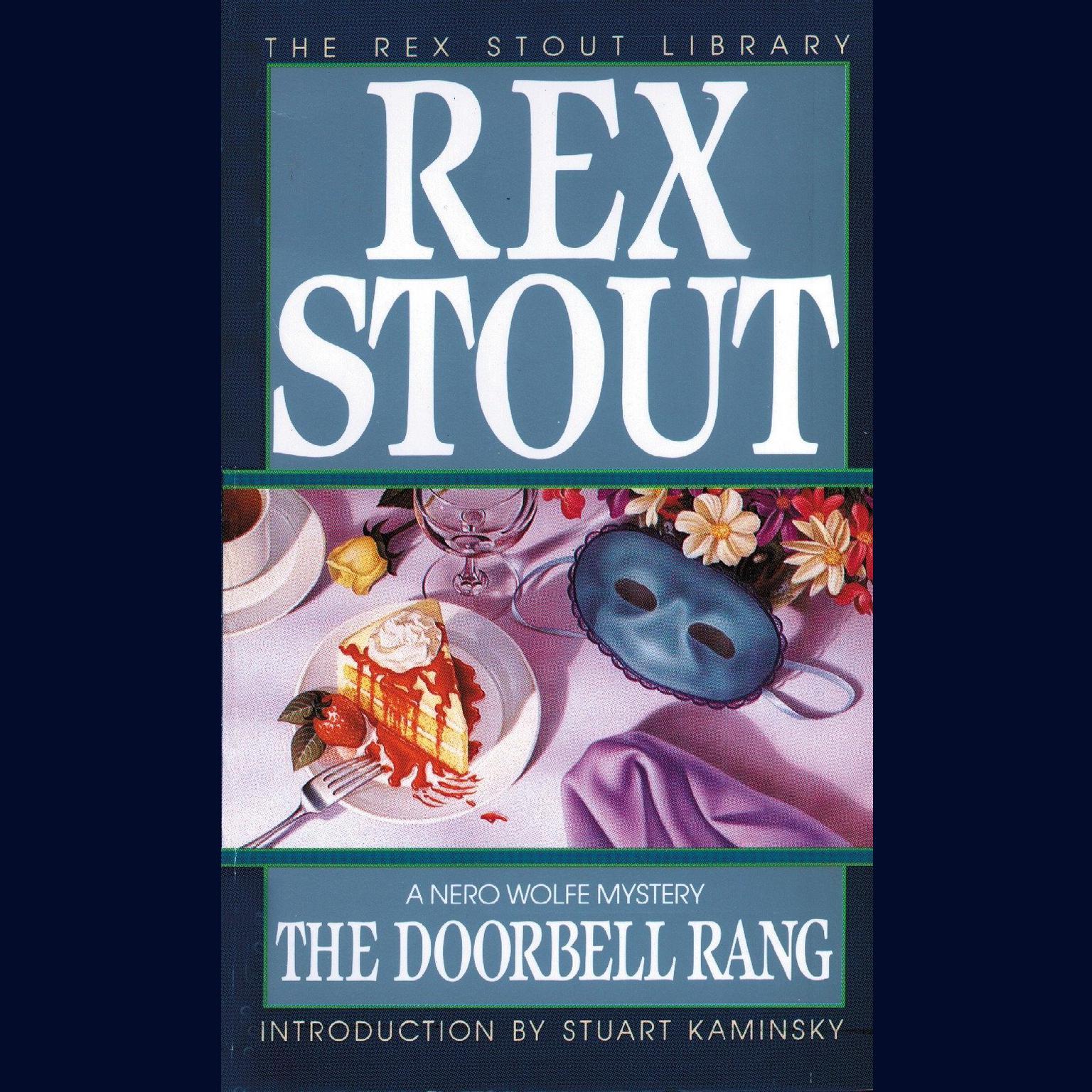 Printable The Doorbell Rang Audiobook Cover Art