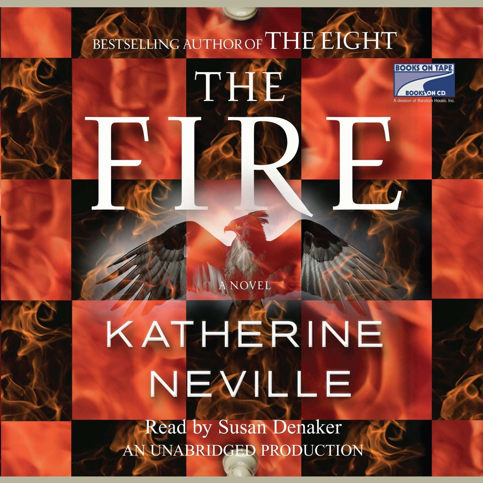 Printable The Fire Audiobook Cover Art