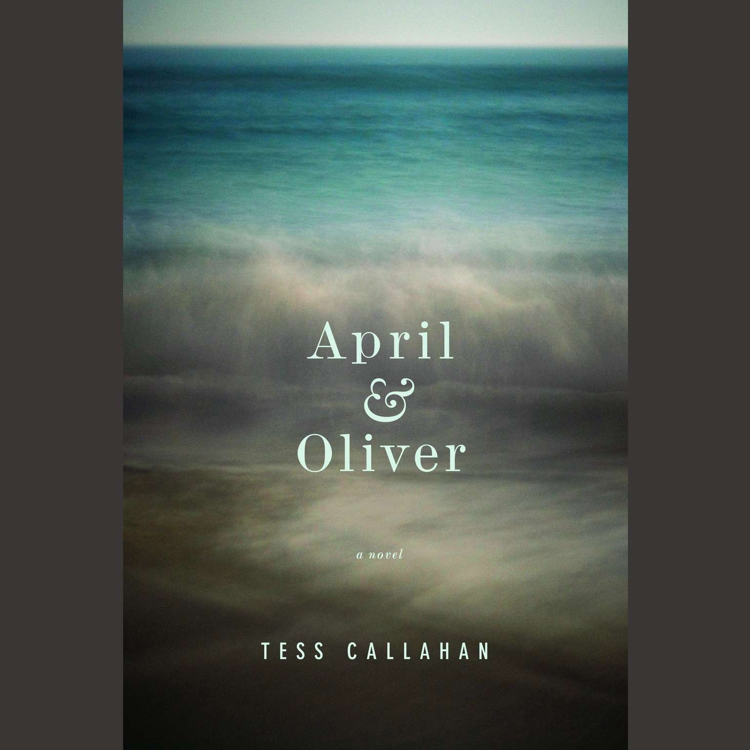Printable April & Oliver Audiobook Cover Art