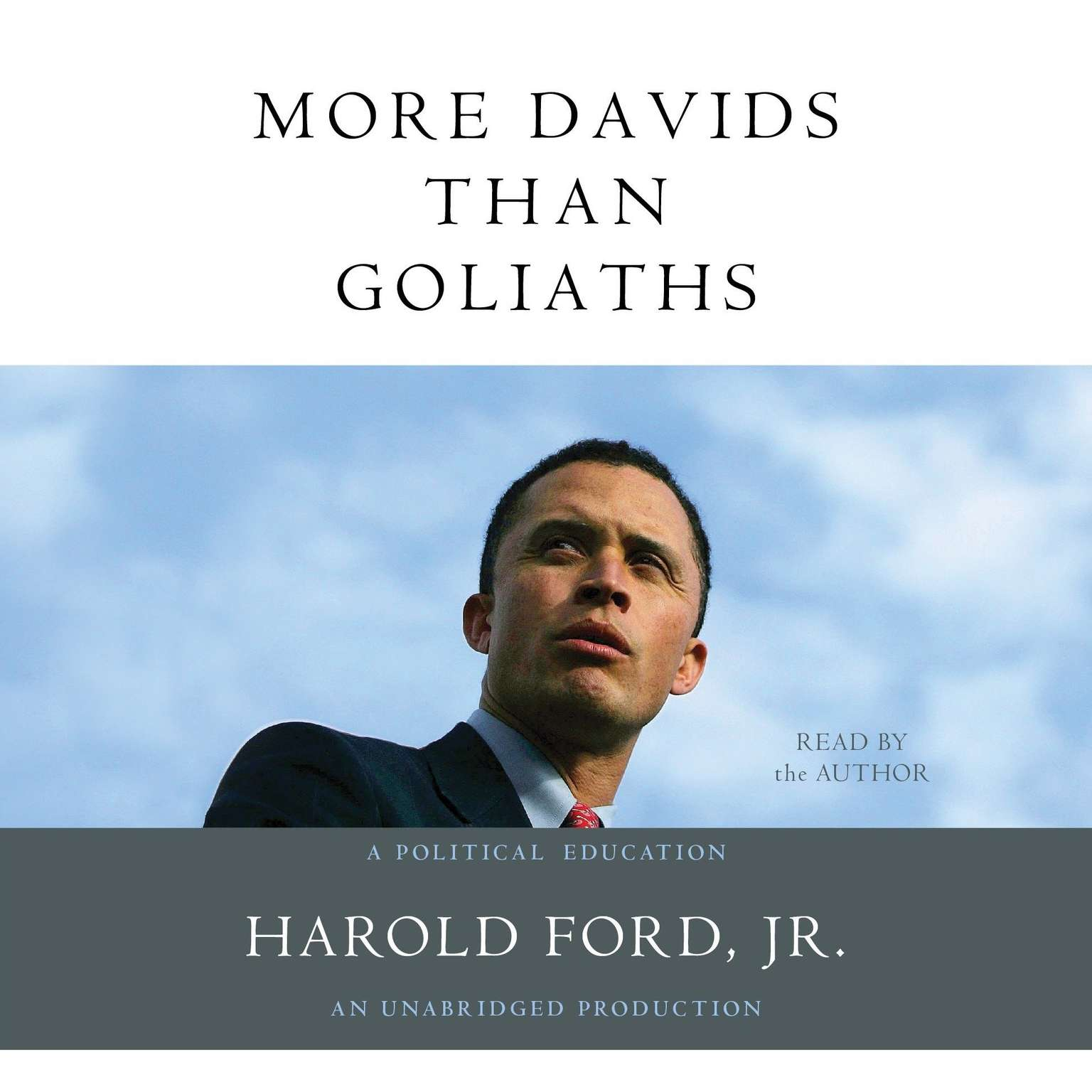 Printable More Davids Than Goliaths: A Political Education Audiobook Cover Art