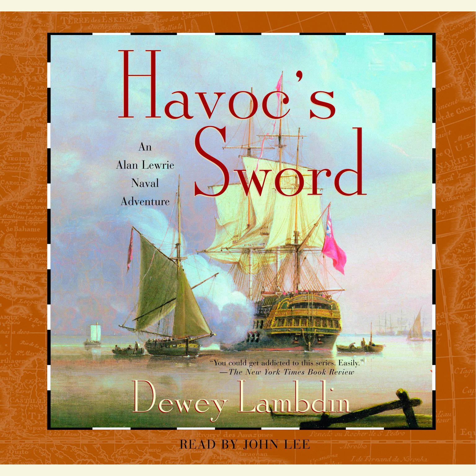 Printable Havoc's Sword Audiobook Cover Art
