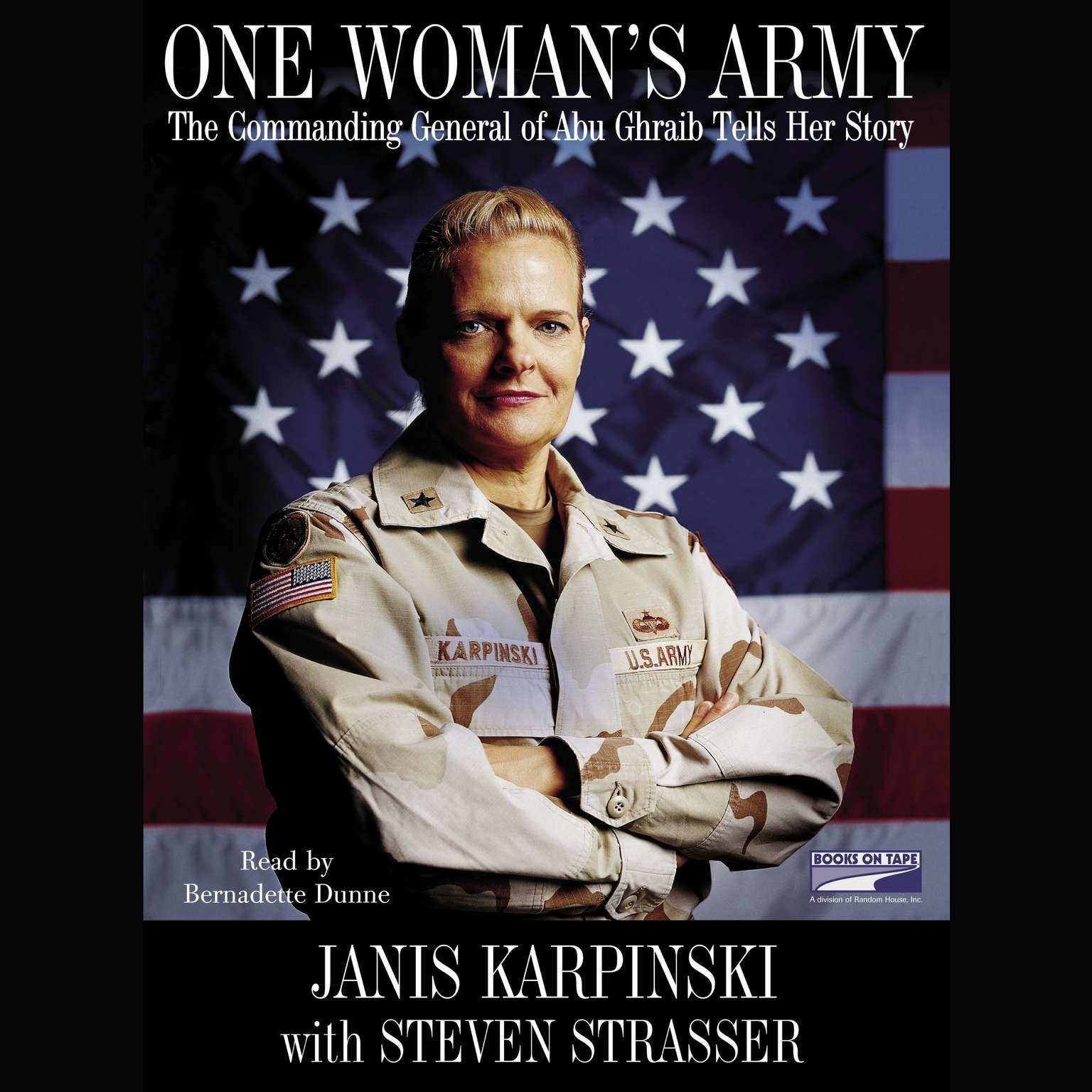 Printable One Woman's Army: The Commanding General of Abu Ghraib Tells Her Story Audiobook Cover Art