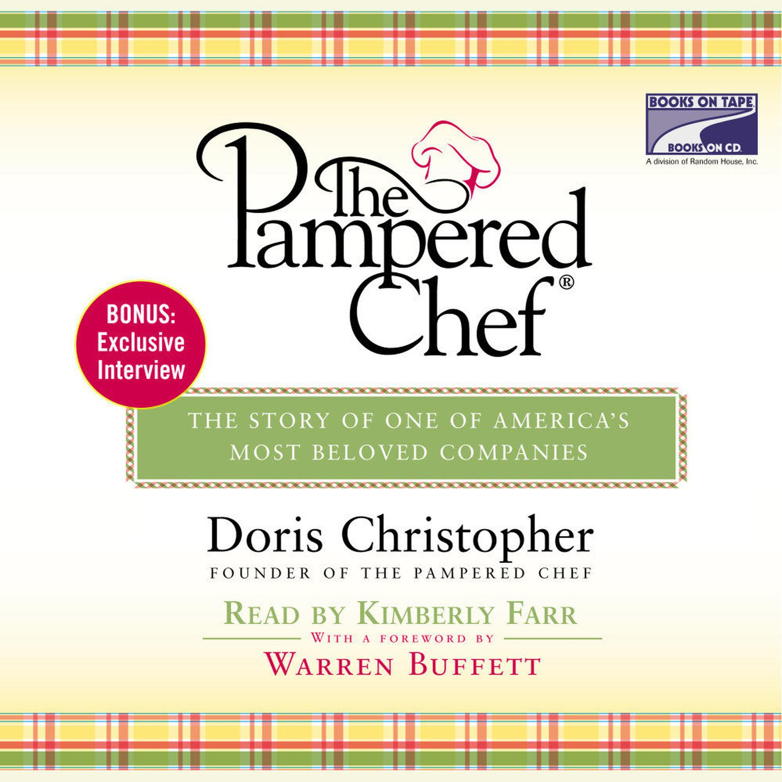 Printable The Pampered Chef: The Story Behind the Creation of One of Today's Most Beloved Companies Audiobook Cover Art