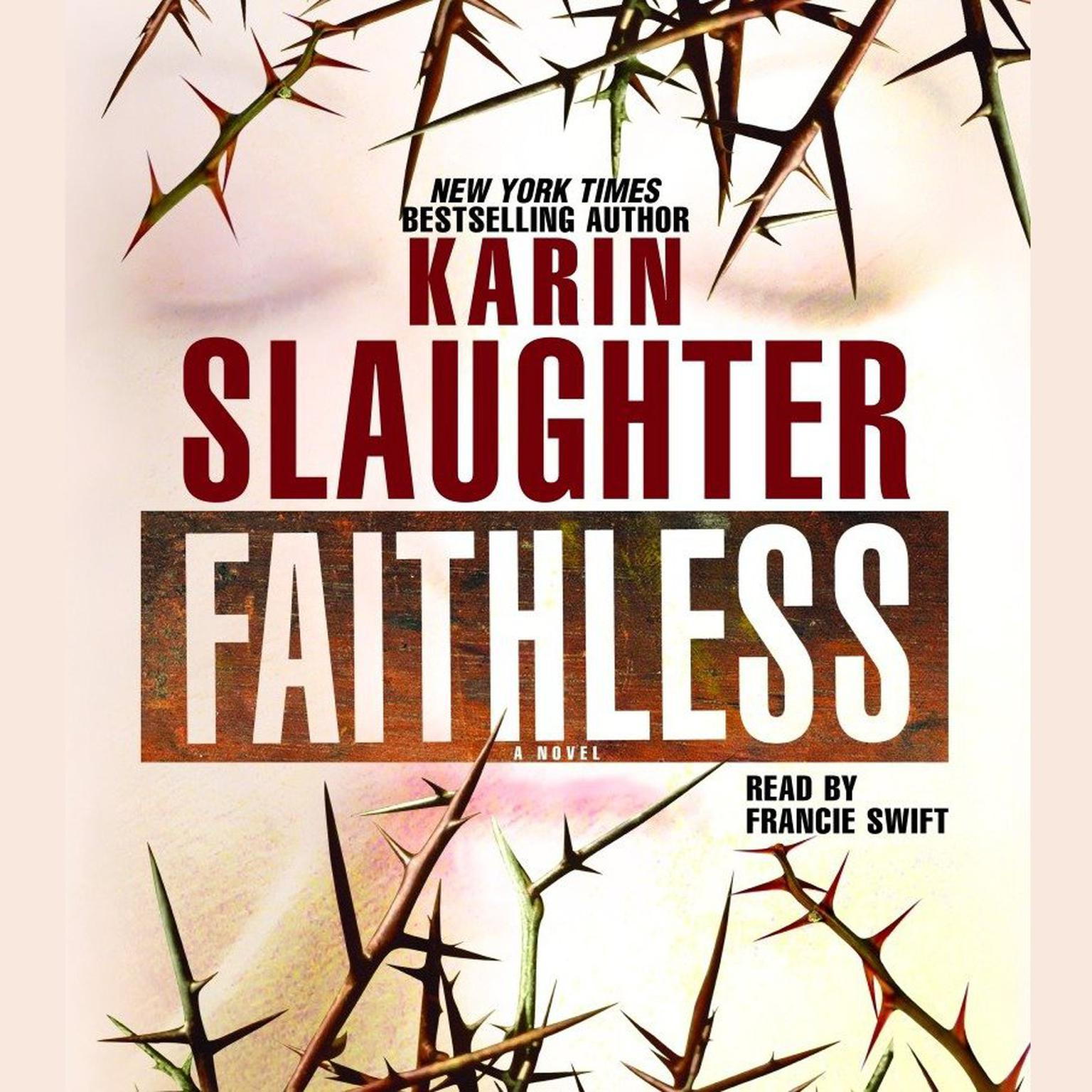 Printable Faithless Audiobook Cover Art