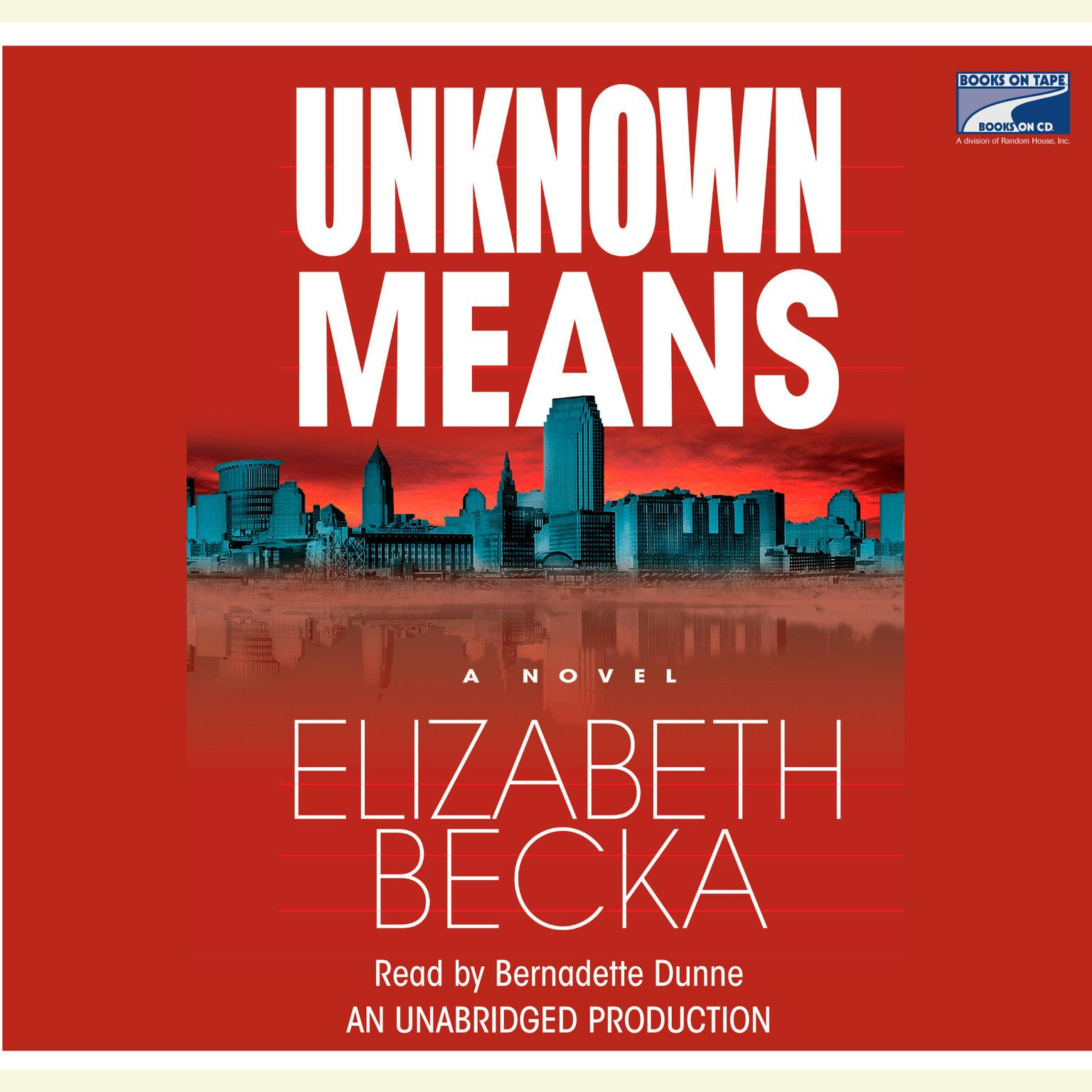 Printable Unknown Means Audiobook Cover Art