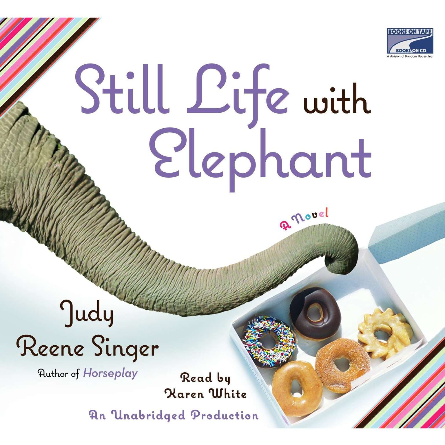 Printable Still Life With Elephant Audiobook Cover Art