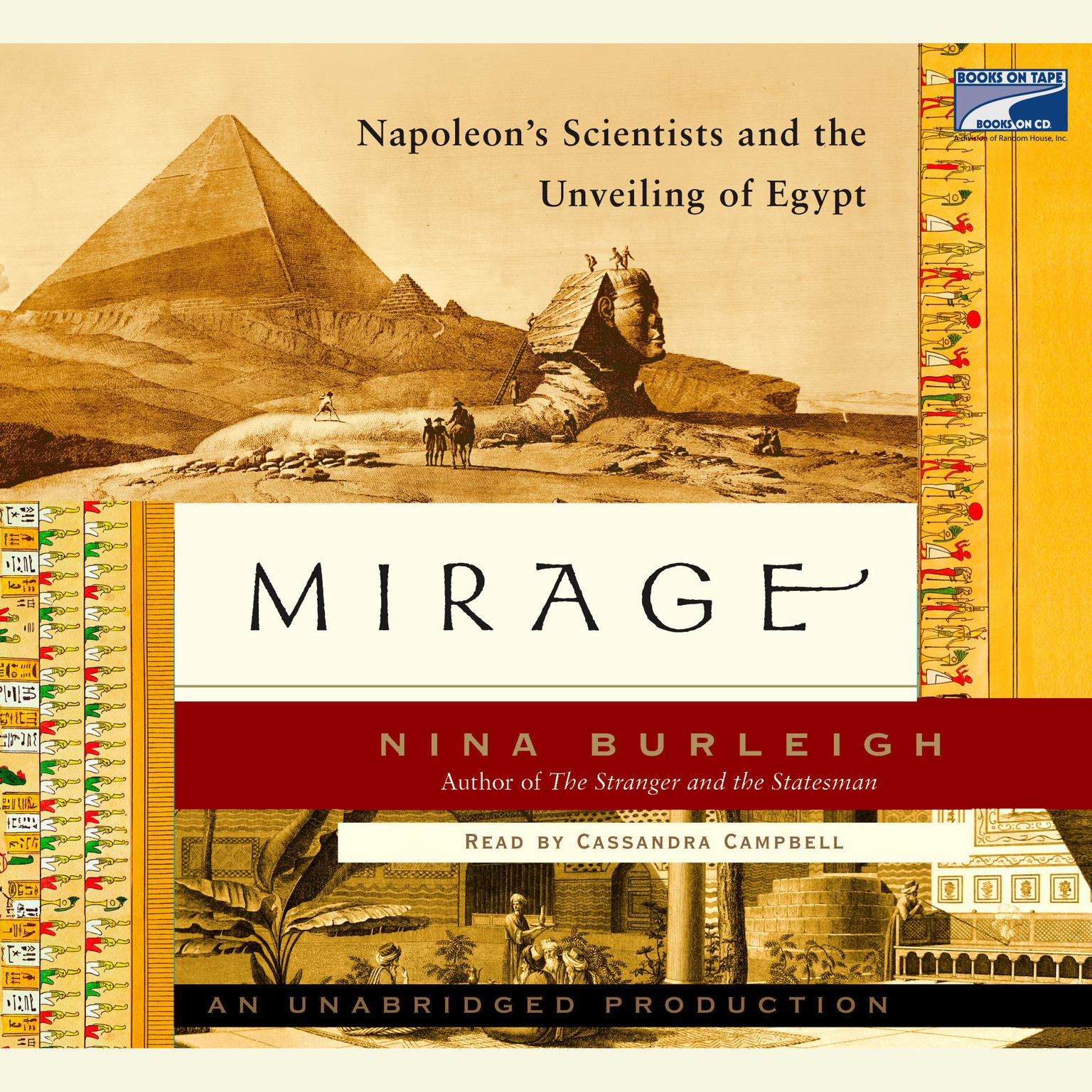 Printable Mirage: Napoleon's Scientists and the Unveiling of Egypt Audiobook Cover Art