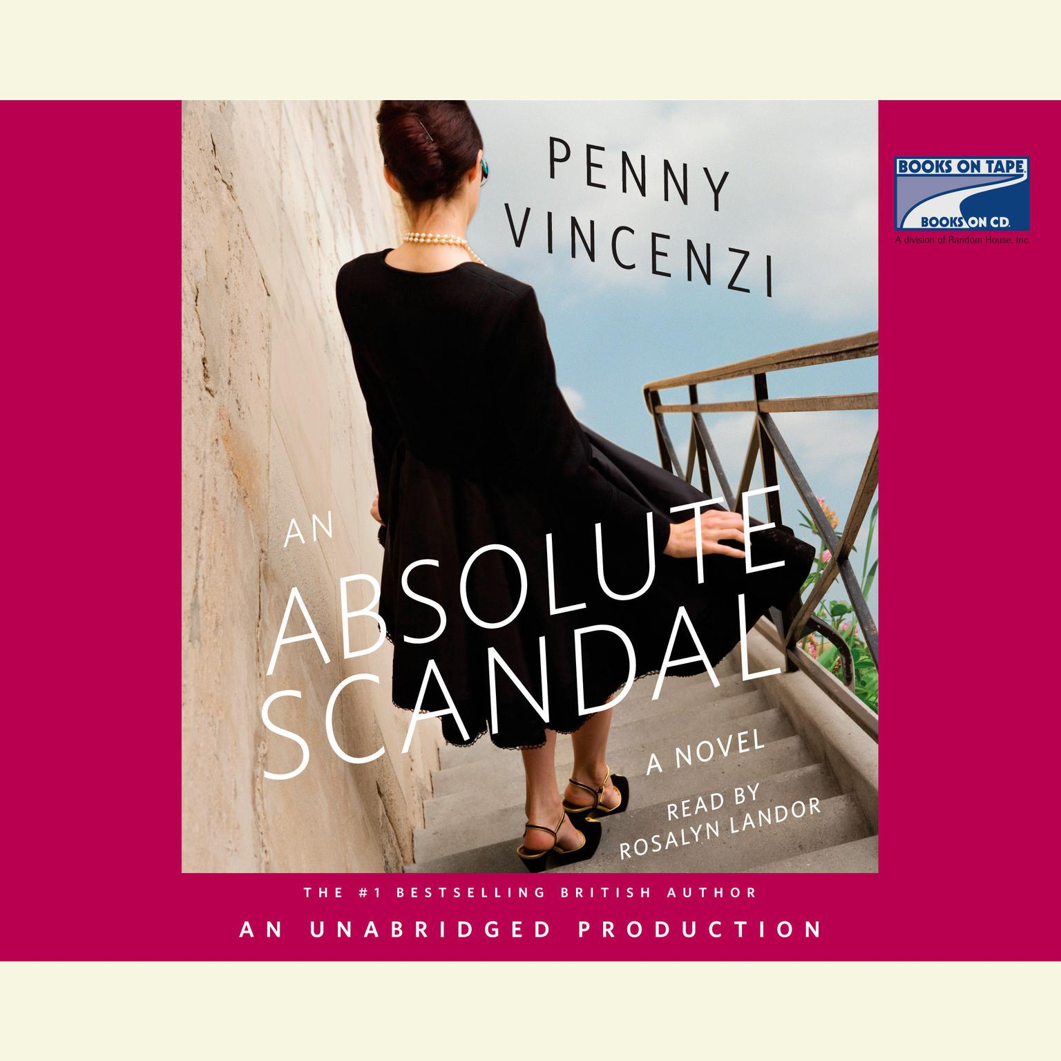 Printable An Absolute Scandal: A Novel Audiobook Cover Art