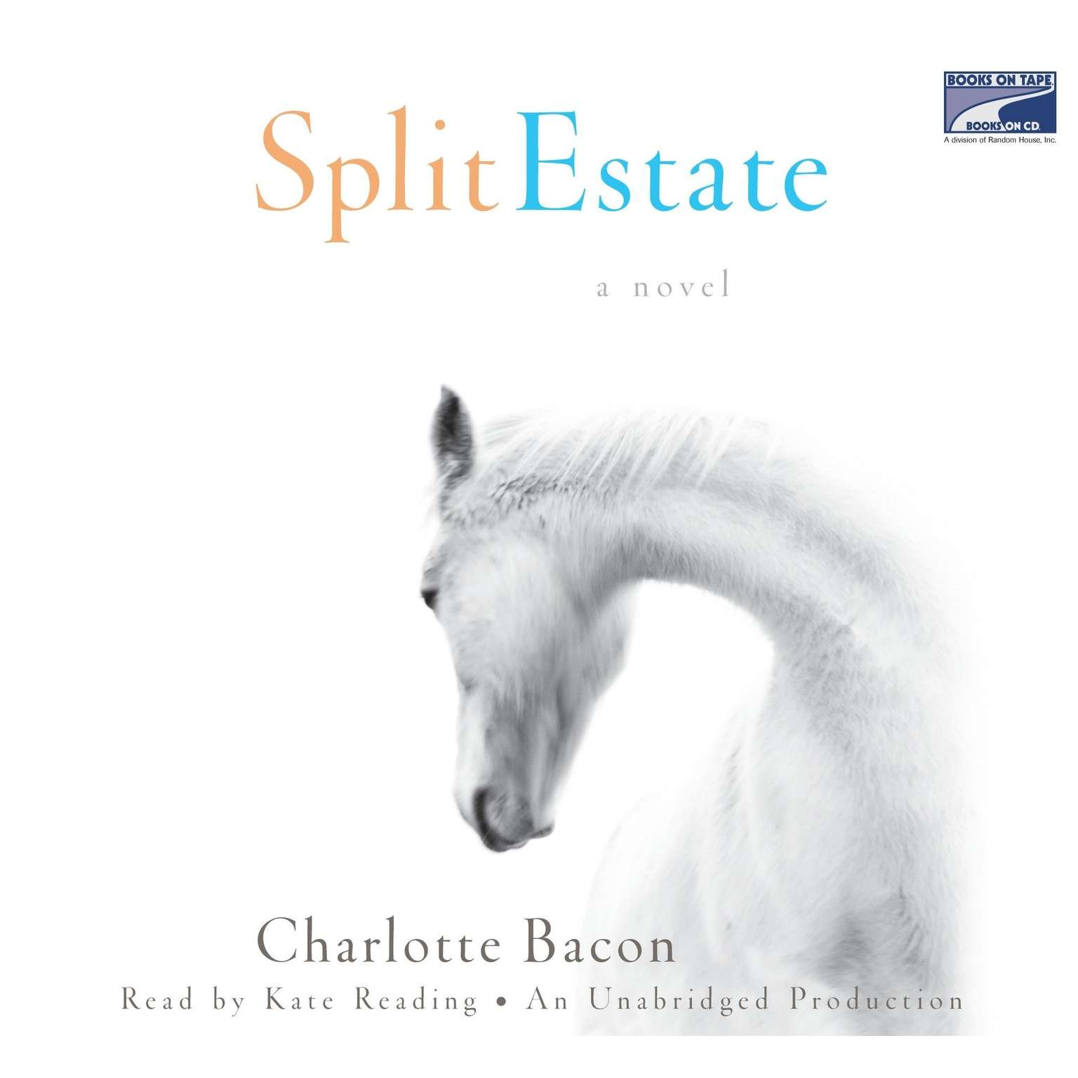 Printable Split Estate Audiobook Cover Art