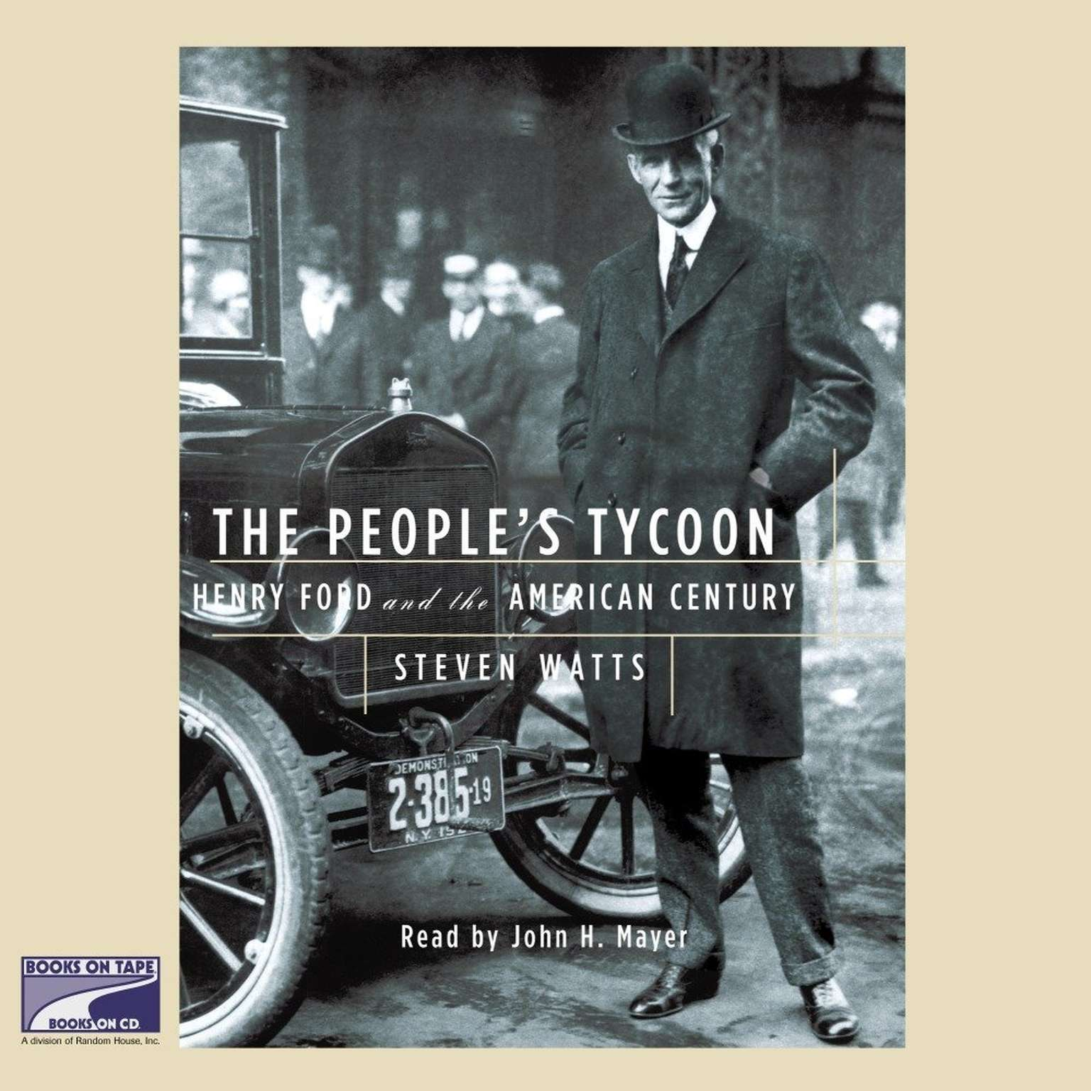 Printable The People's Tycoon: Henry Ford and the American Century Audiobook Cover Art