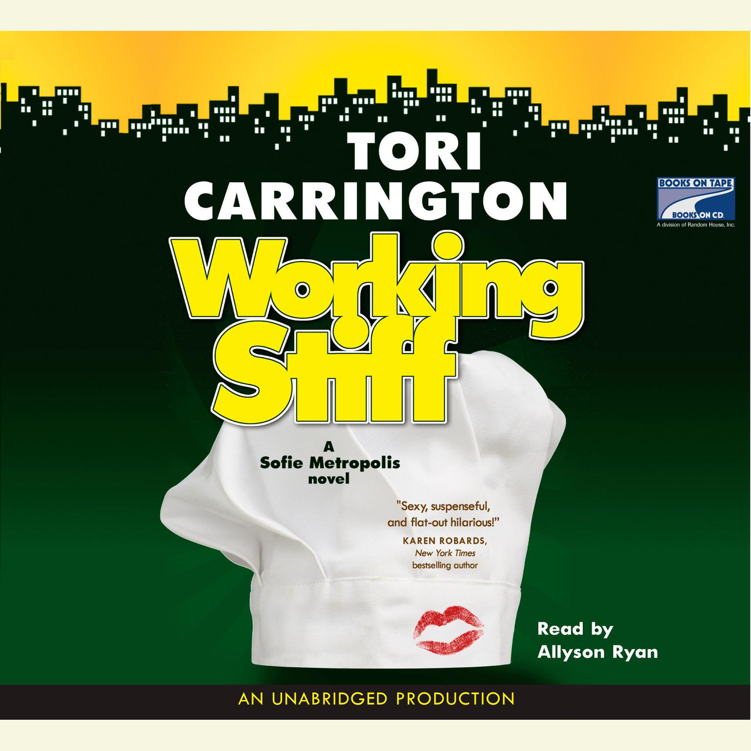 Printable Working Stiff Audiobook Cover Art