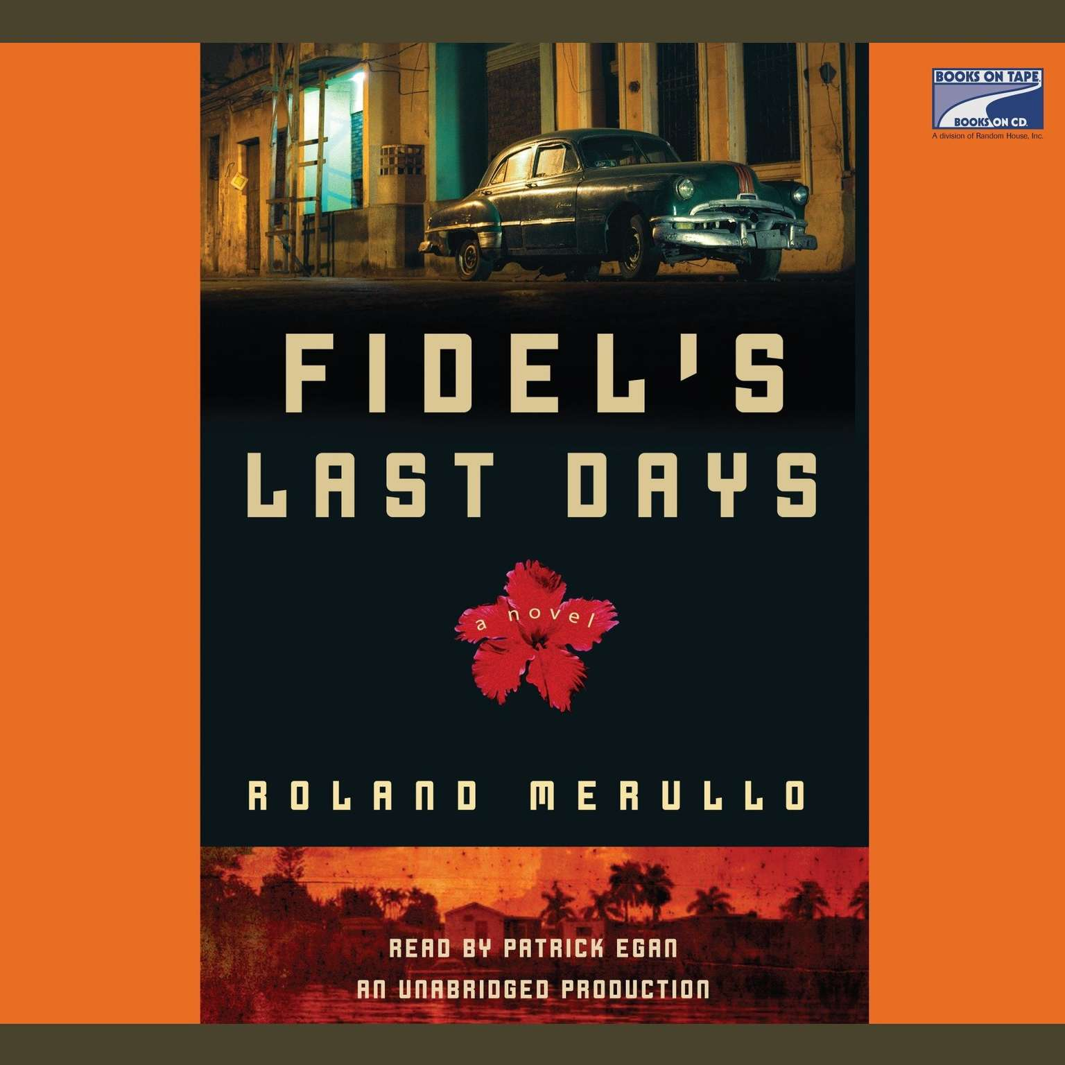 Printable Fidel's Last Days: A Novel Audiobook Cover Art
