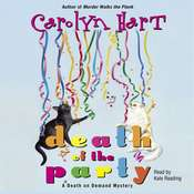 Death of the Party Audiobook, by Carolyn Hart