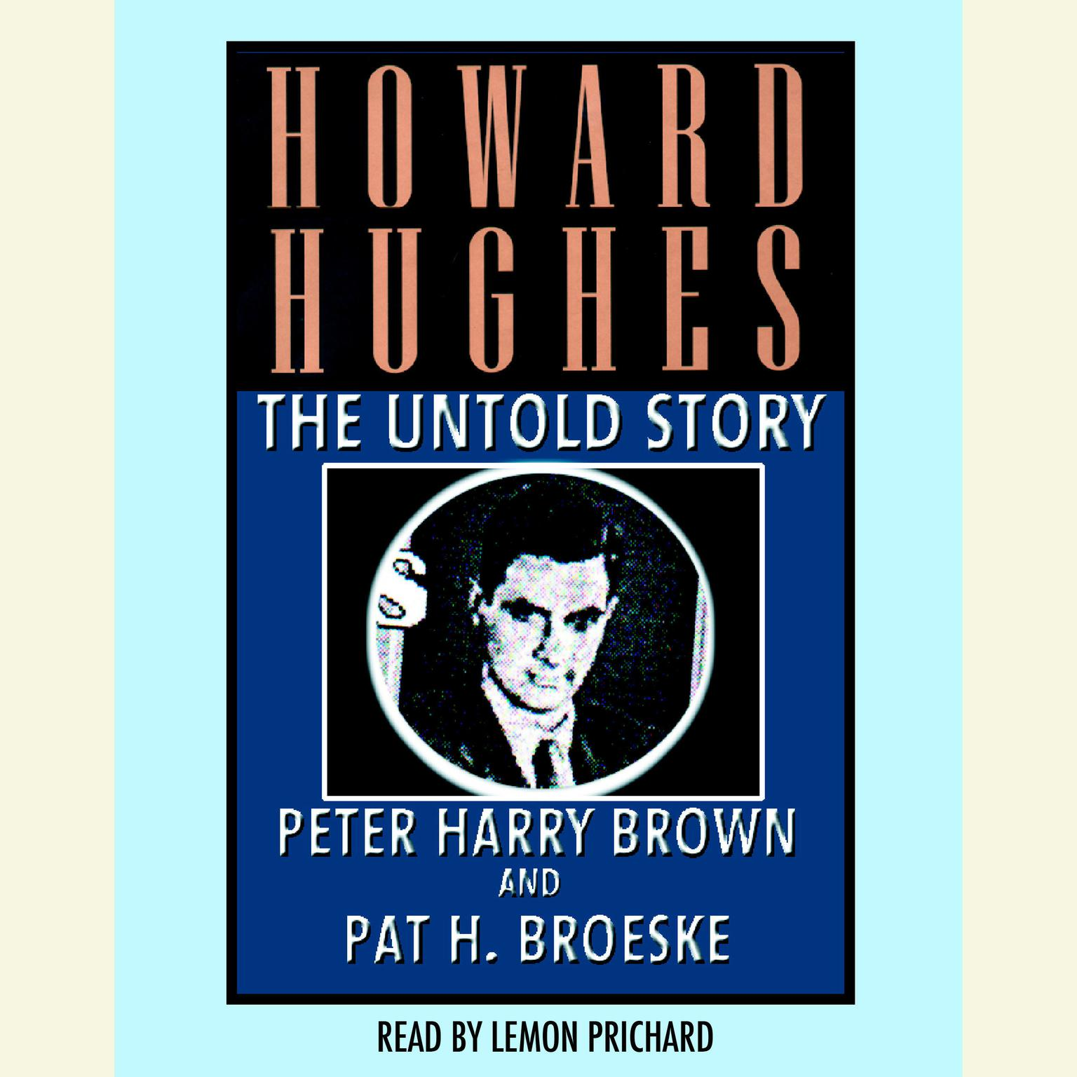 Printable Howard Hughes: The Untold Story Audiobook Cover Art