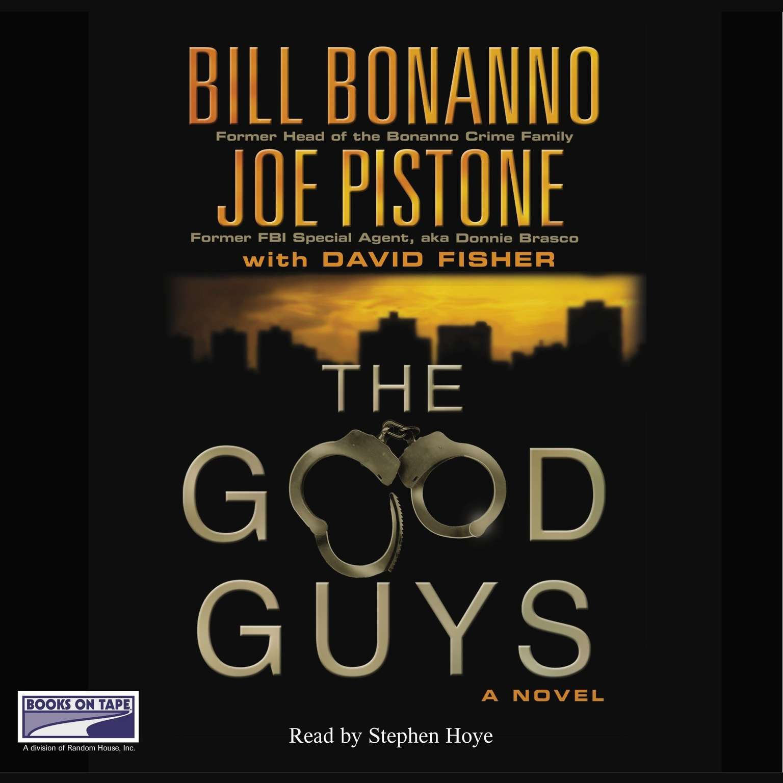Printable The Good Guys Audiobook Cover Art
