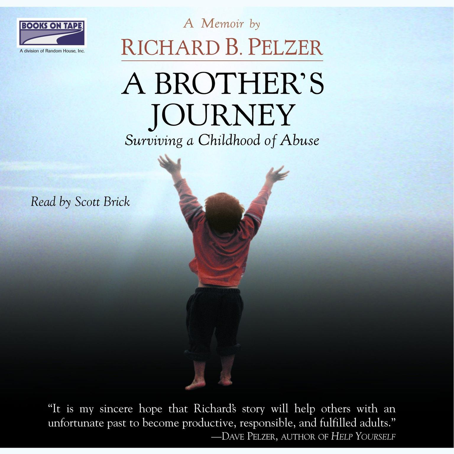 Printable A Brother's Journey: Surviving a Childhood of Abuse Audiobook Cover Art