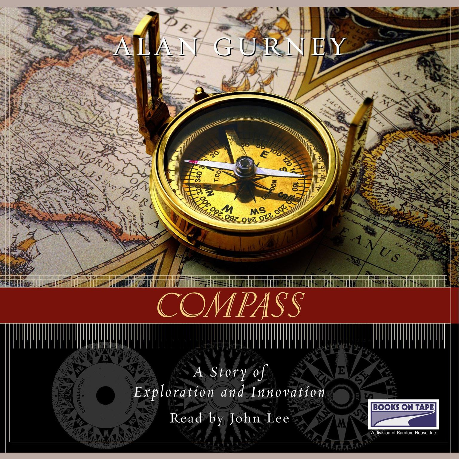 Printable Compass: A Story of Exploration and Innovation Audiobook Cover Art