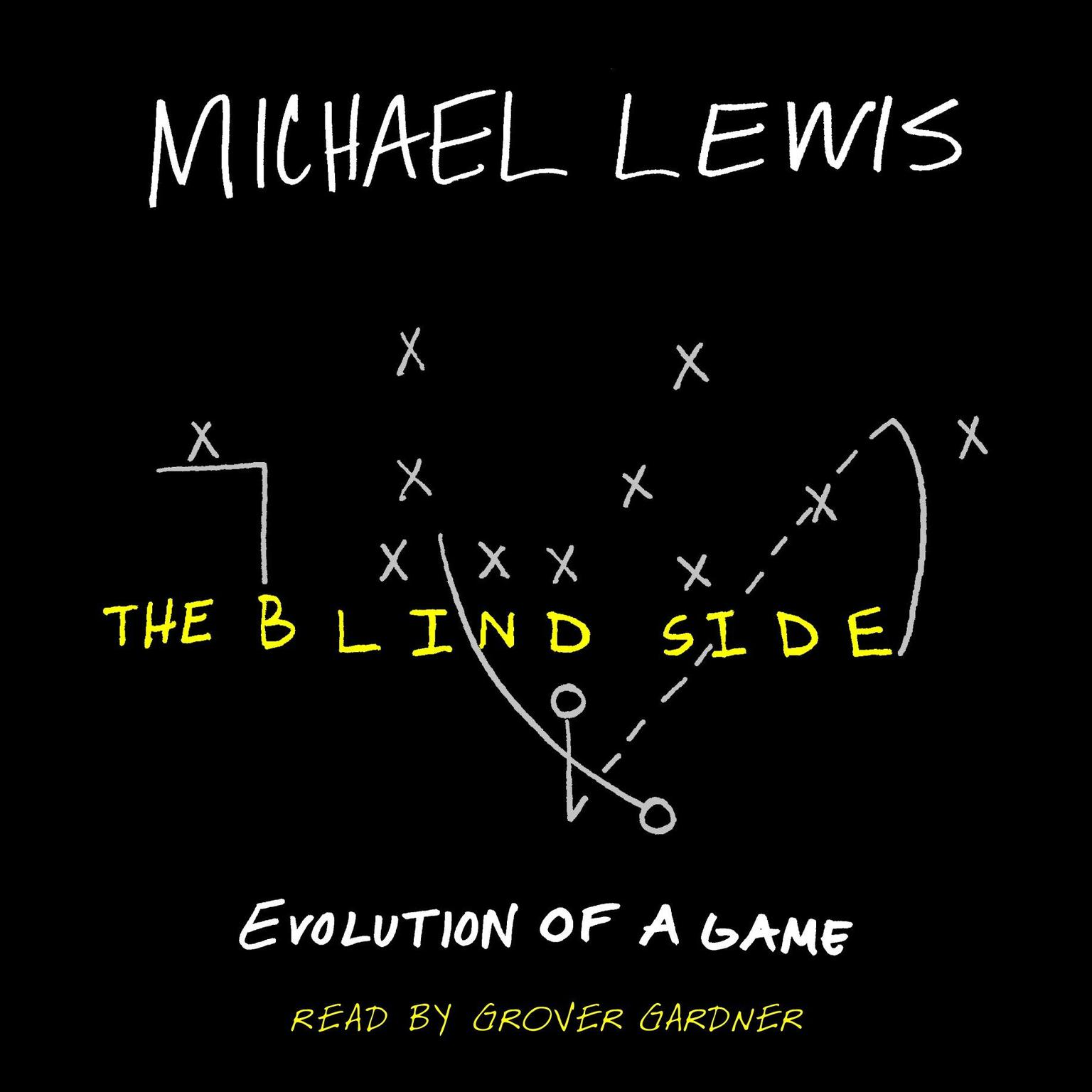 Printable The Blind Side: Evolution of a Game Audiobook Cover Art