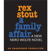 A Family Affair, by Rex Stout