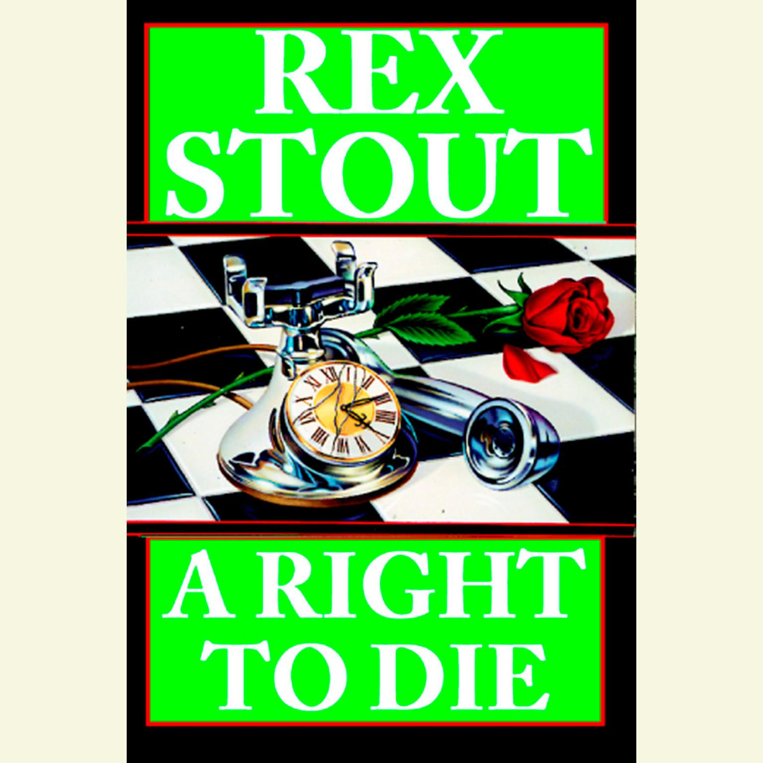 Printable A Right to Die Audiobook Cover Art
