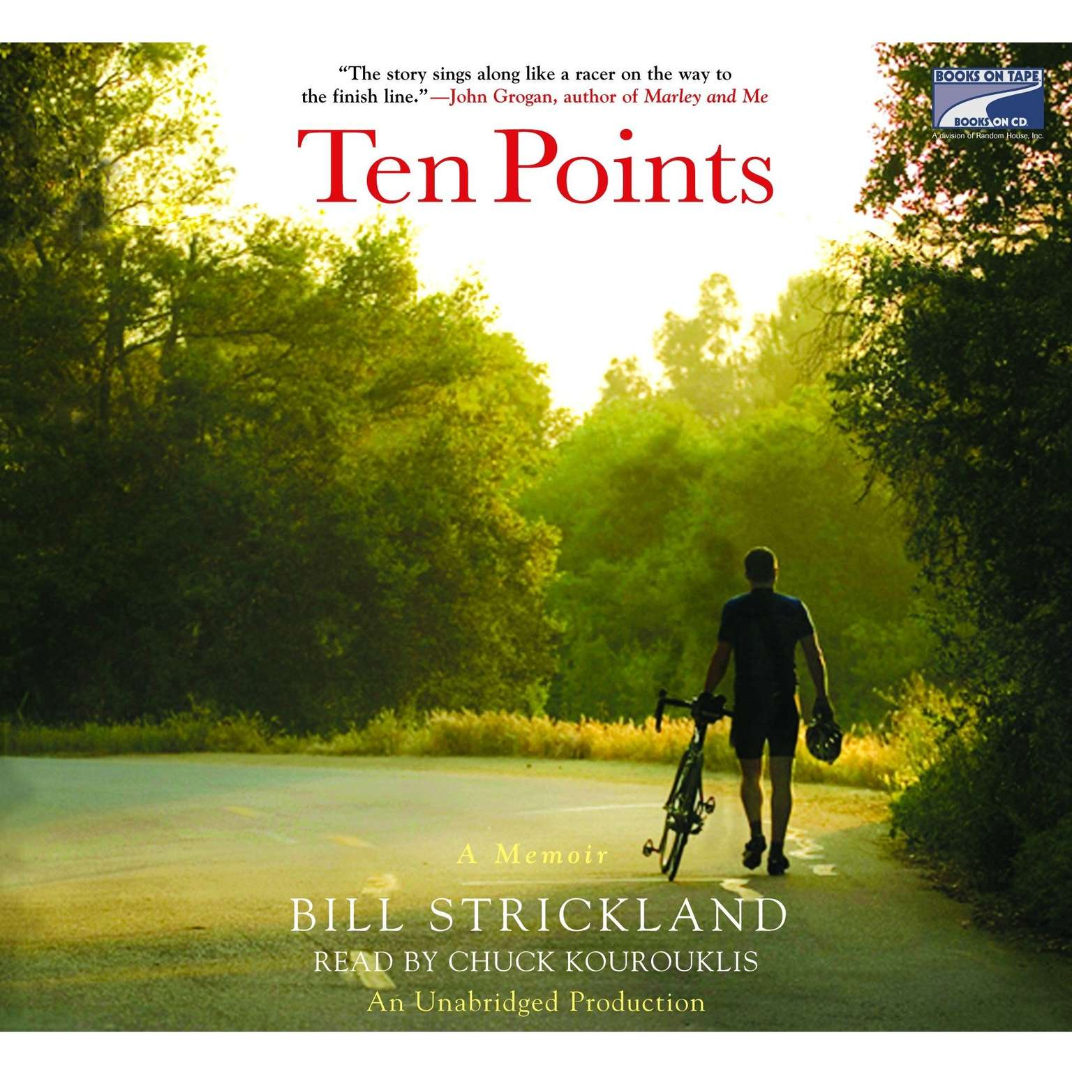 Printable Ten Points: A Father's Promise, a Daughter's Wish - How a Magical Season of Bicycle Riding Made it All Come True Audiobook Cover Art