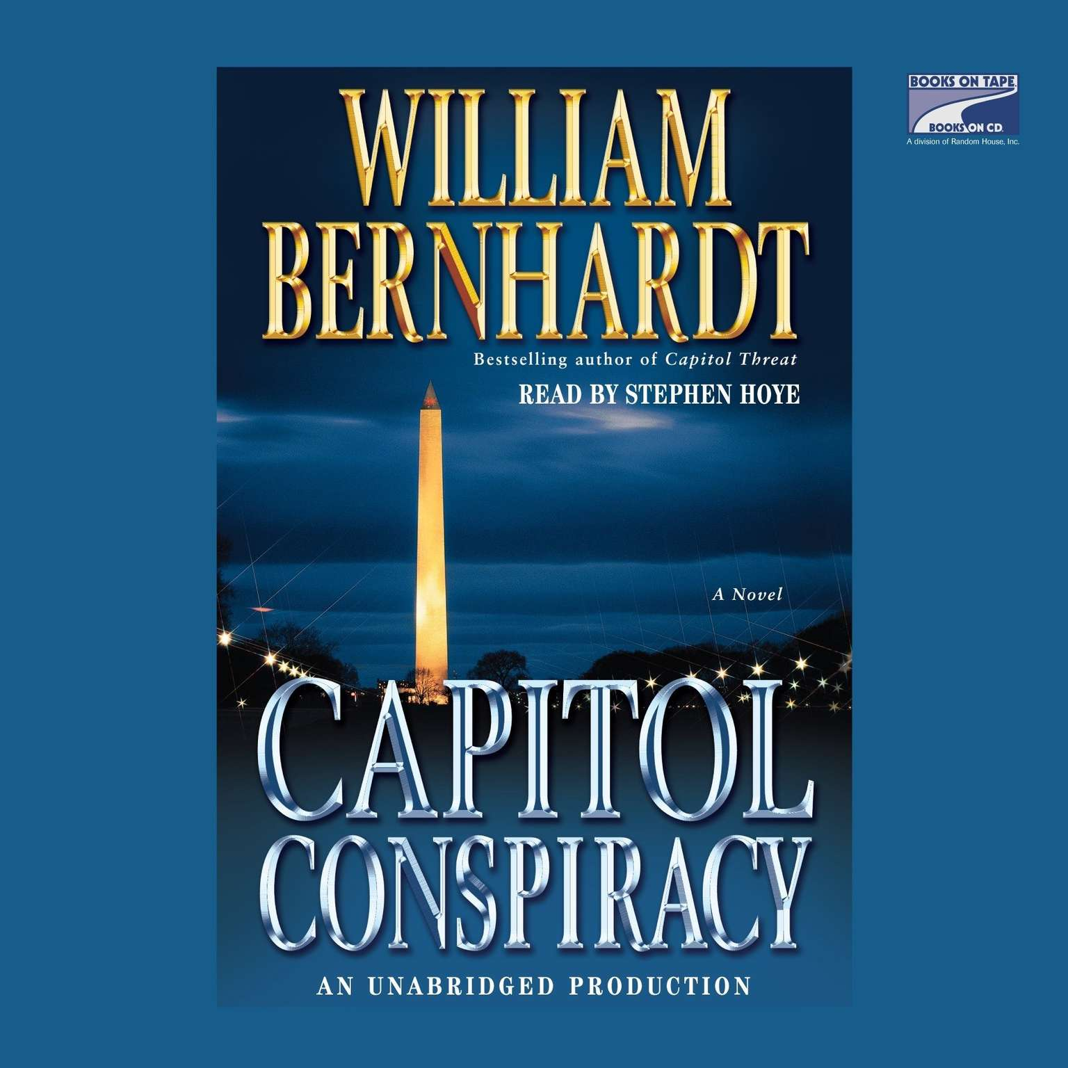 Printable Capitol Conspiracy Audiobook Cover Art