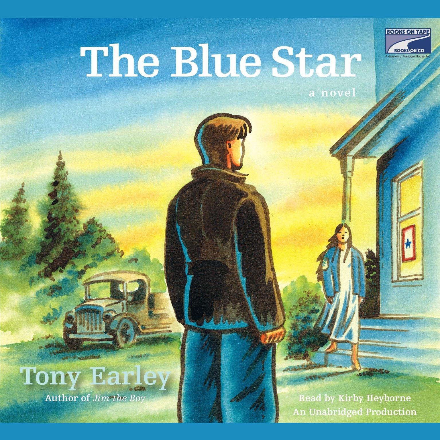 Printable The Blue Star Audiobook Cover Art