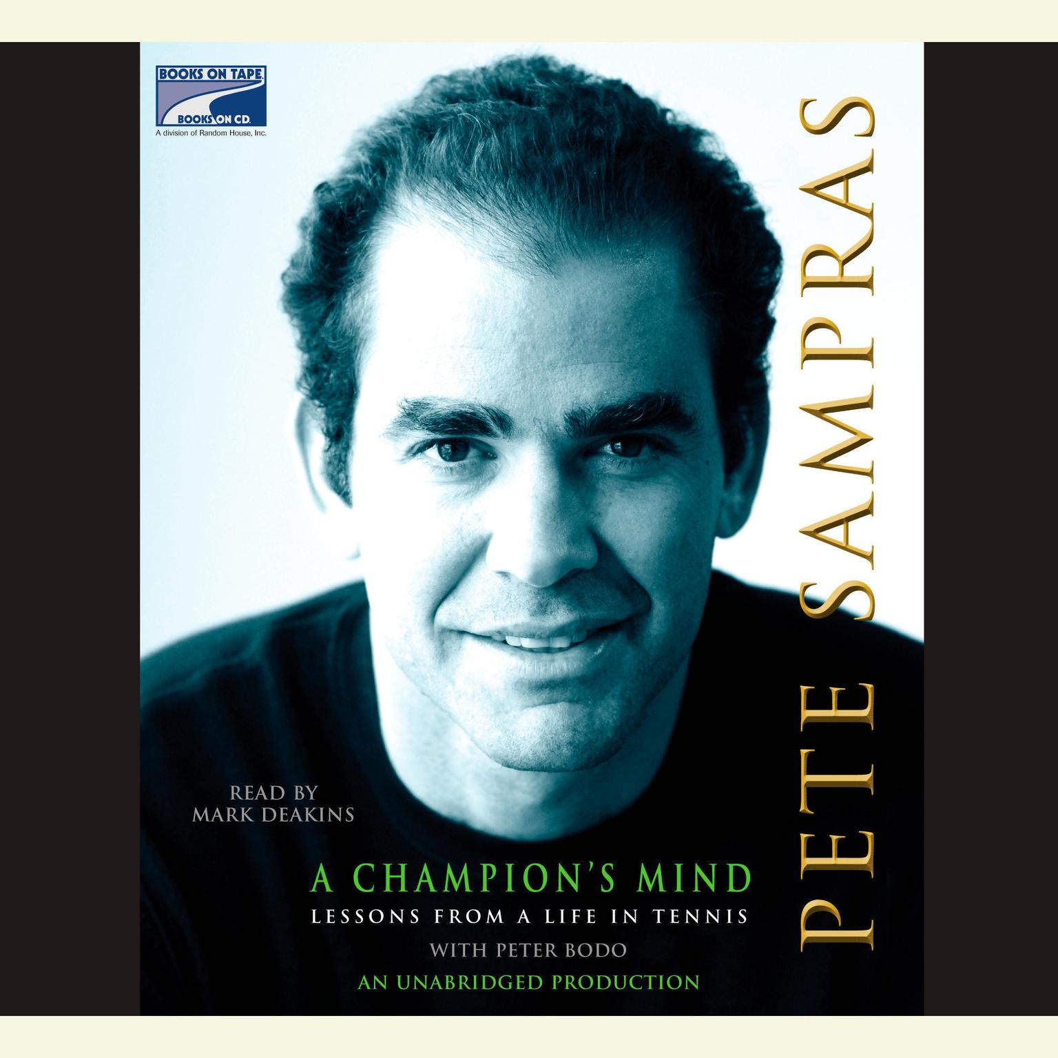 Printable A Champion's Mind: Lessons from a Life in Tennis Audiobook Cover Art