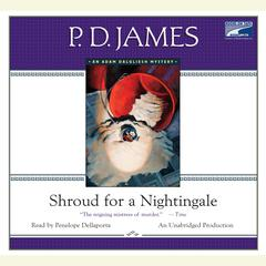 Shroud for a Nightingale Audiobook, by P. D. James